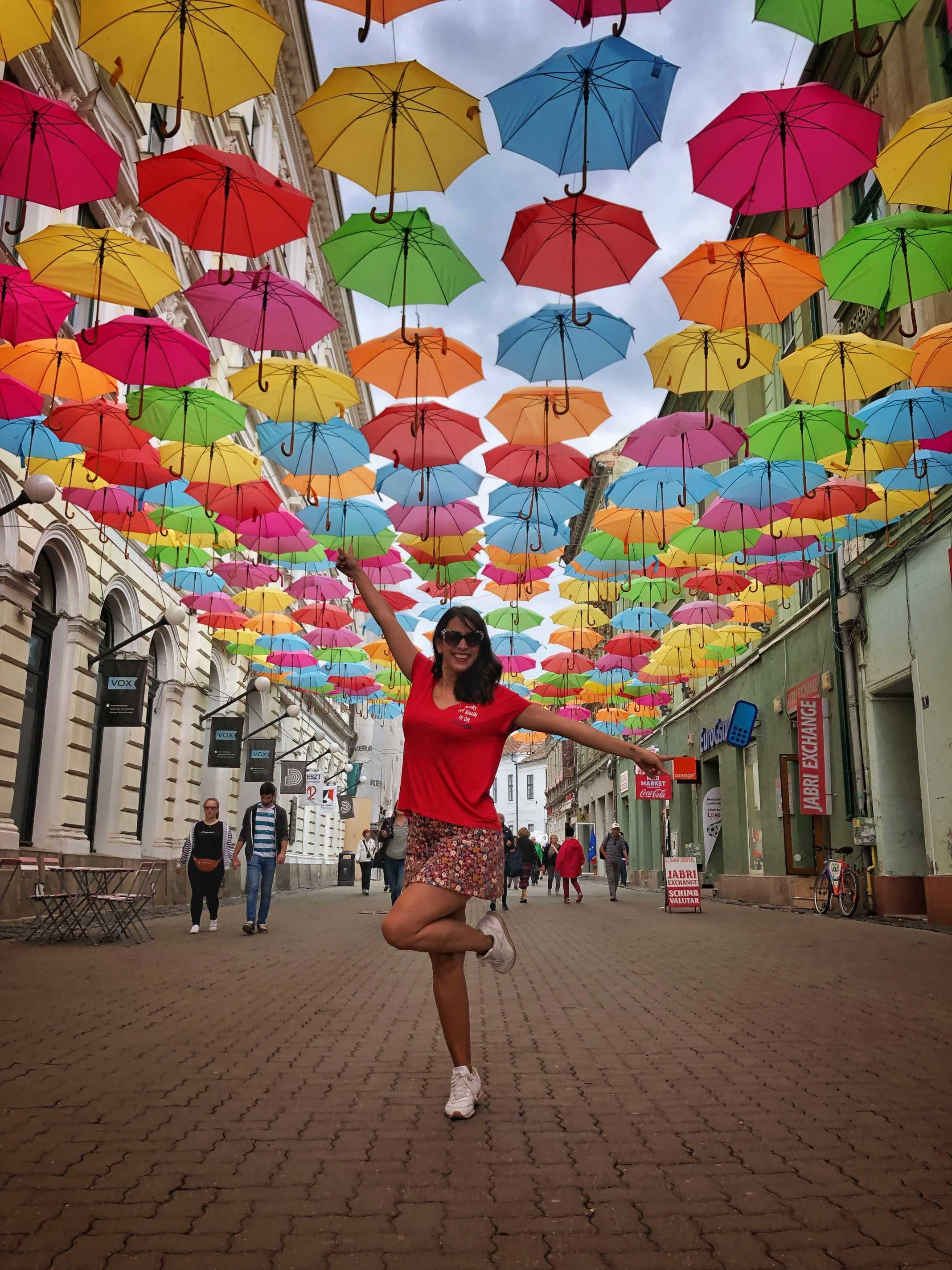 Umbrellas Timisoara Romania
