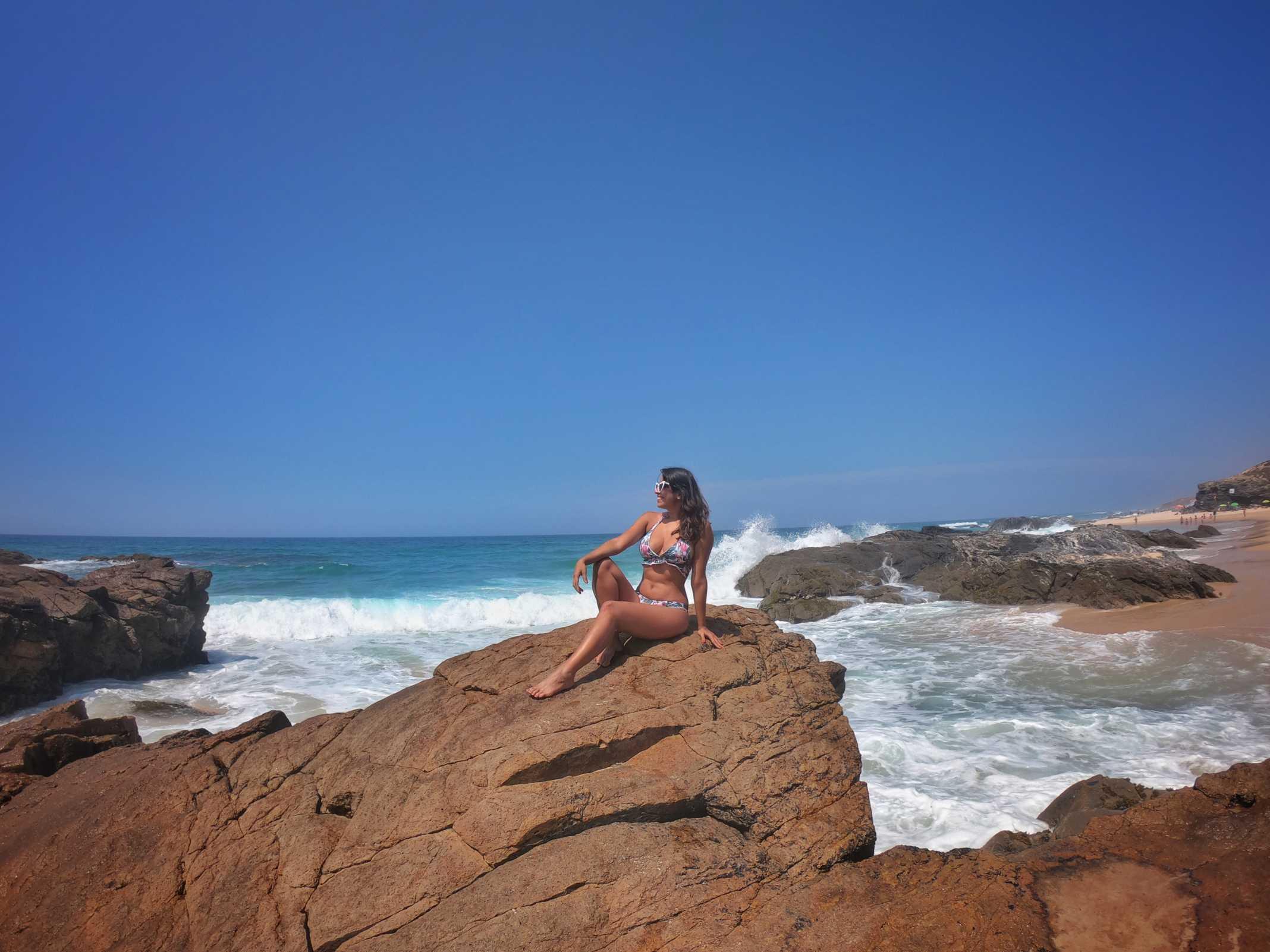 Praia do Malhão Costa Alentejana
