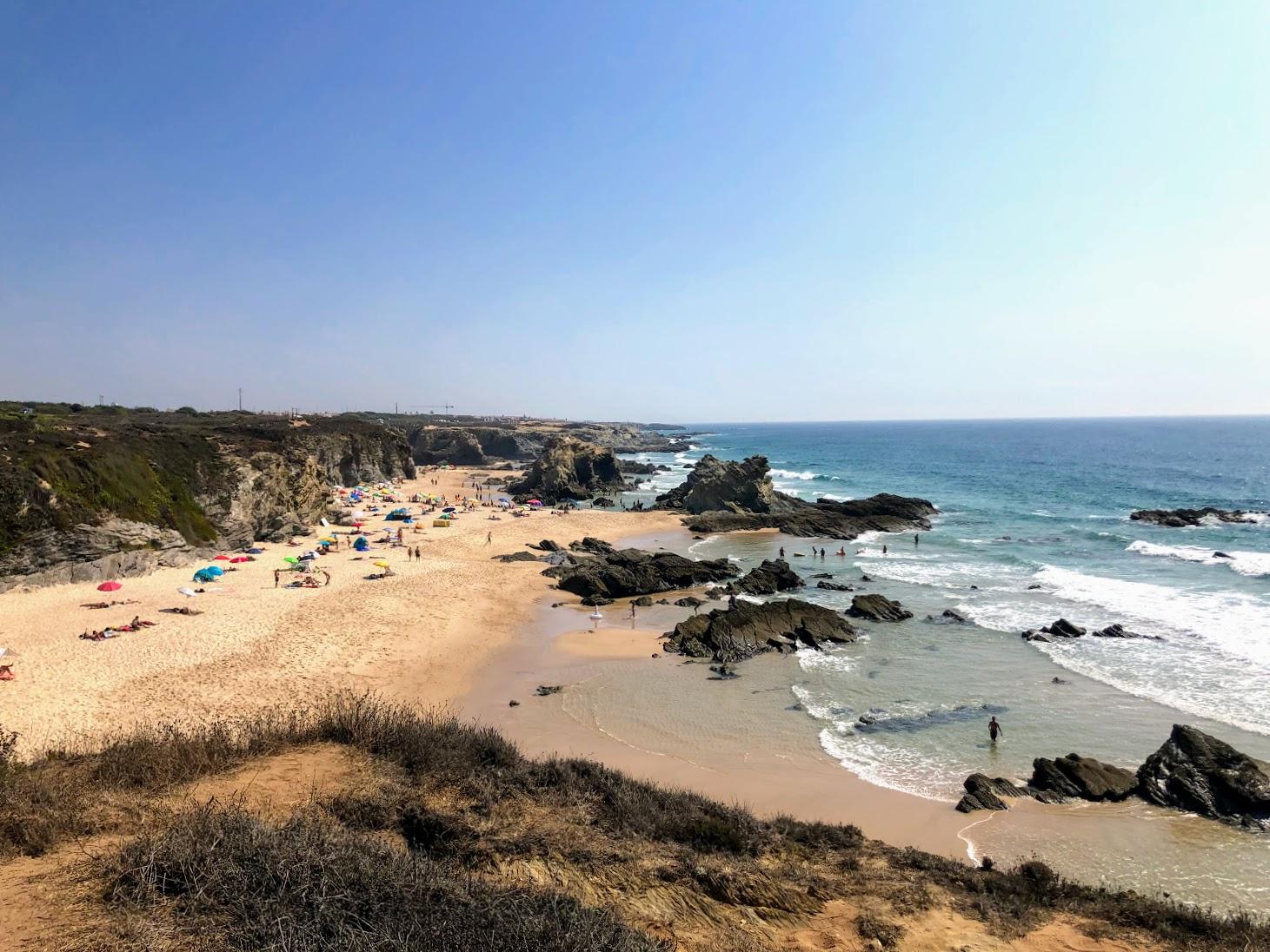 Praia da Samoqueira Costa Vicentina