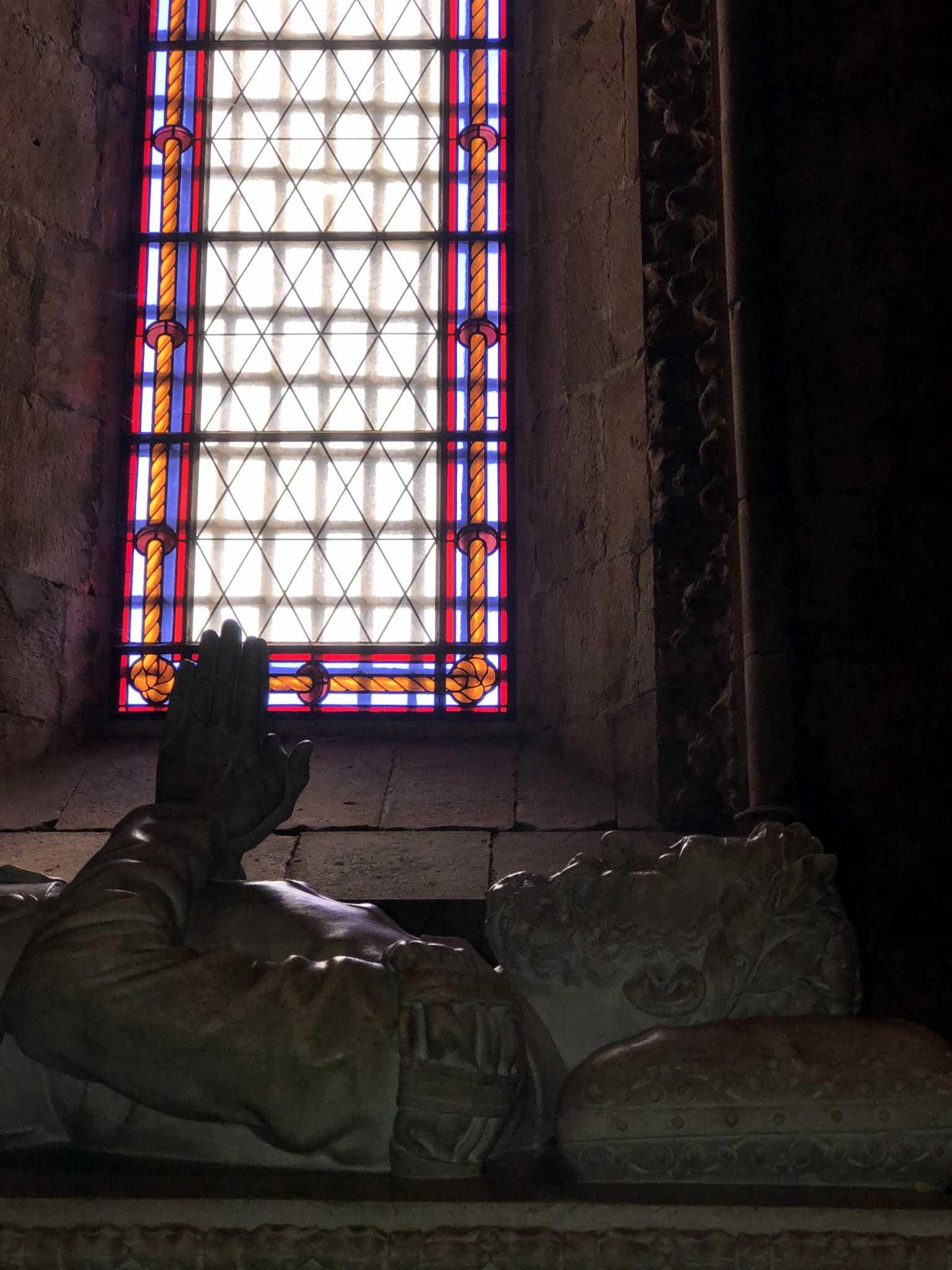 Camões Mosteiro dos Jeronimos, Lisboa, portugal