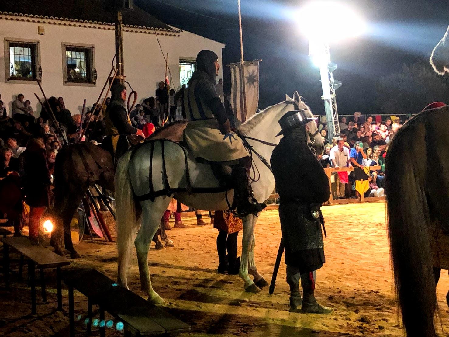 Cavalo Feira Medieval de Palmela
