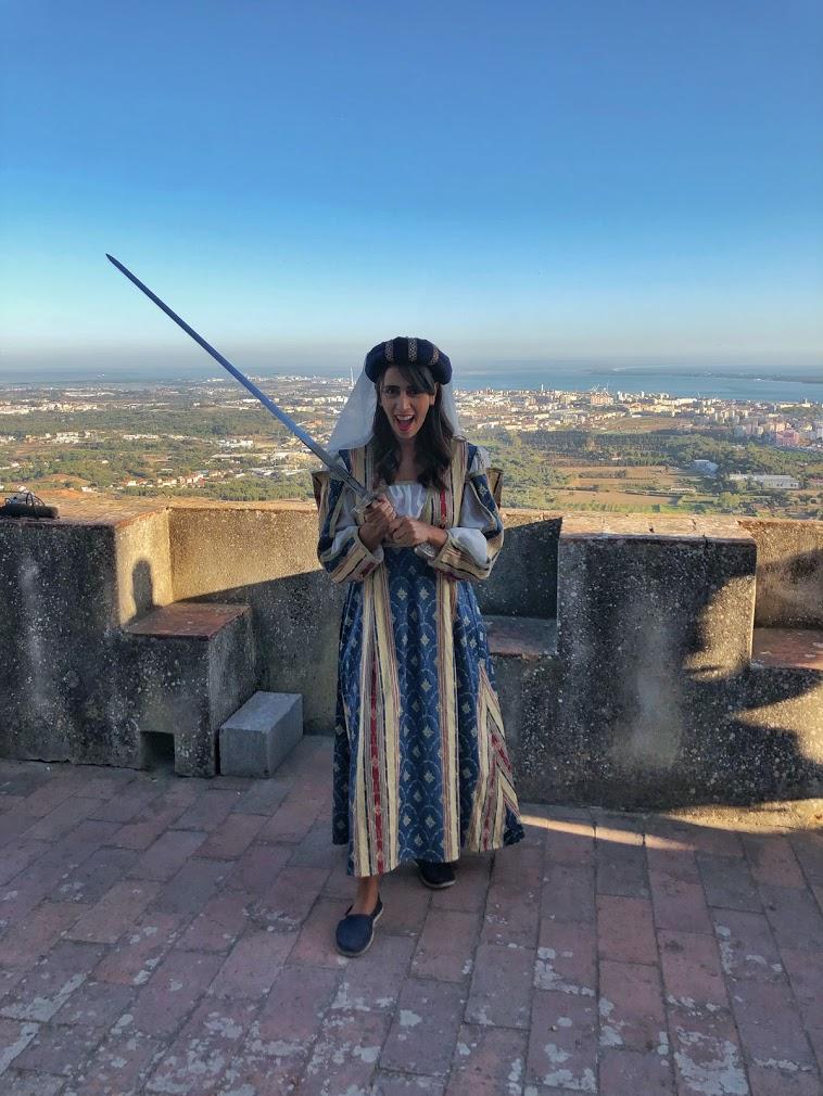 Fantasia Princesa Medieval