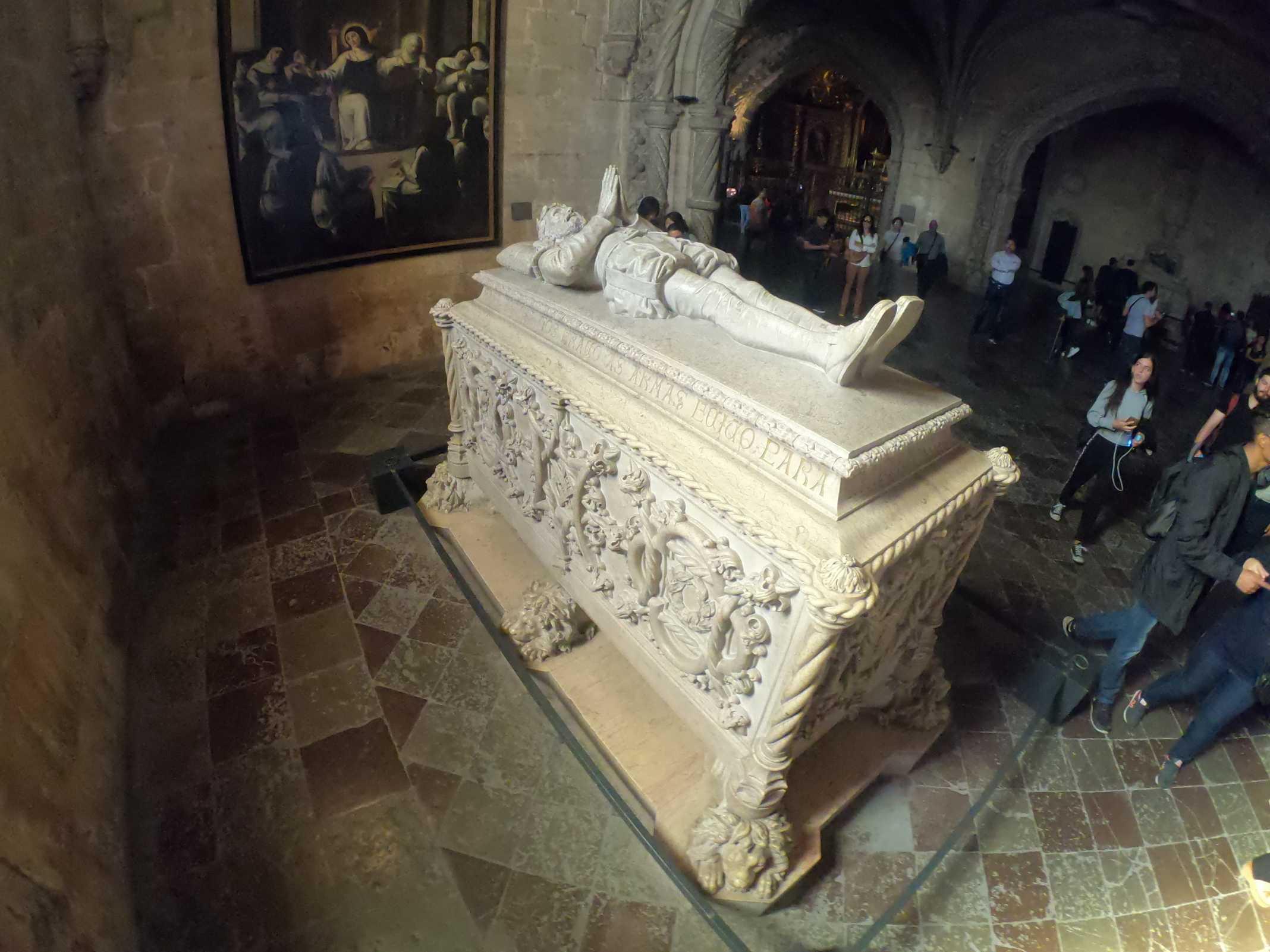 Luís Vaz de Camões mosteiro dos Jeronimos