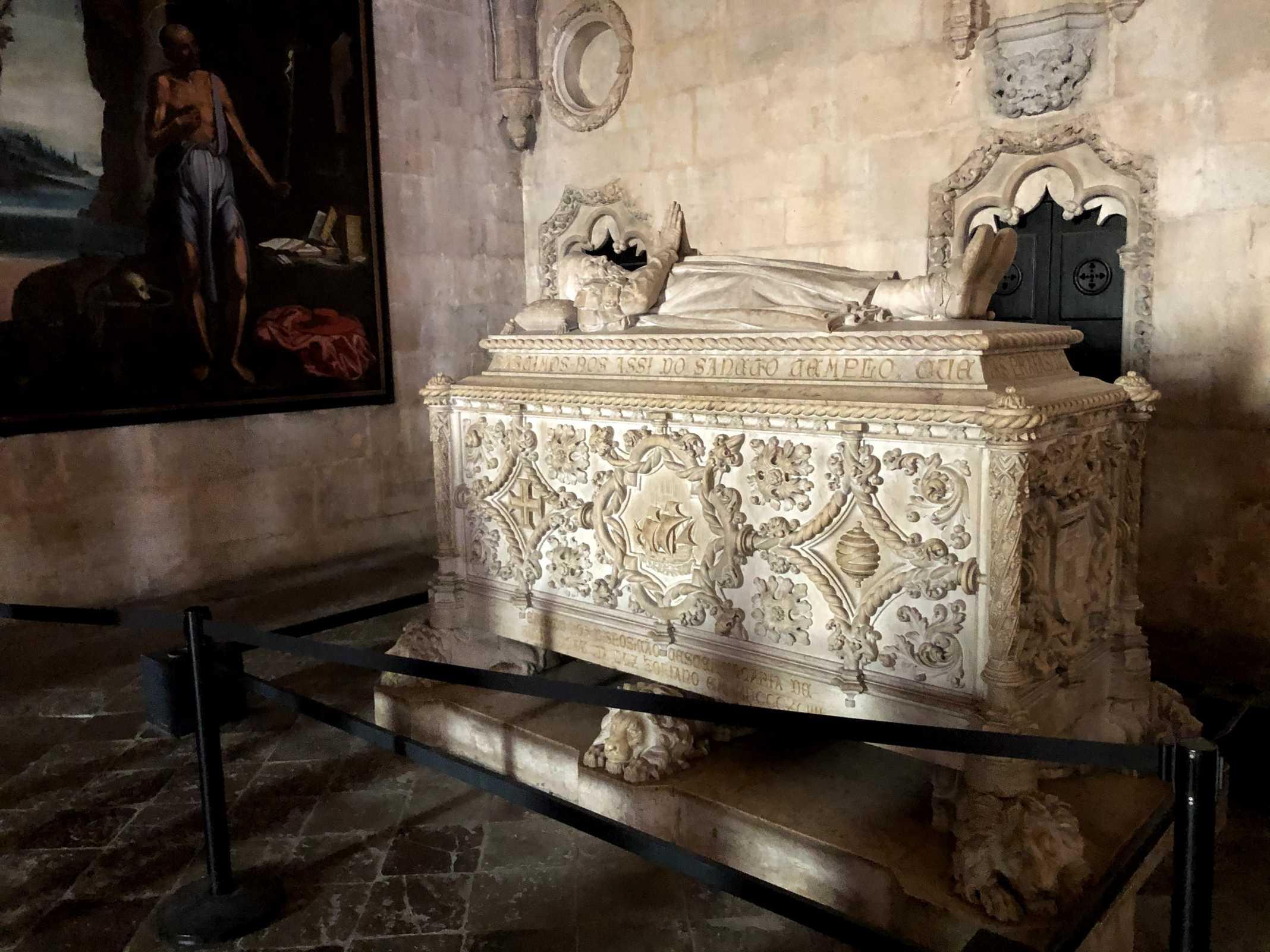 Vasco da Gama mosteiro dos Jeronimos
