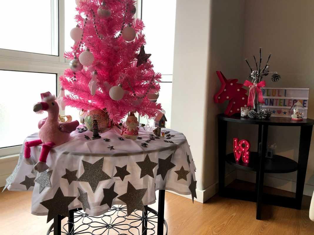 DIY Decoração de Natal Pink