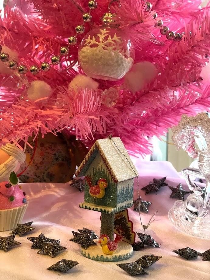 Decoração de Natal Pink