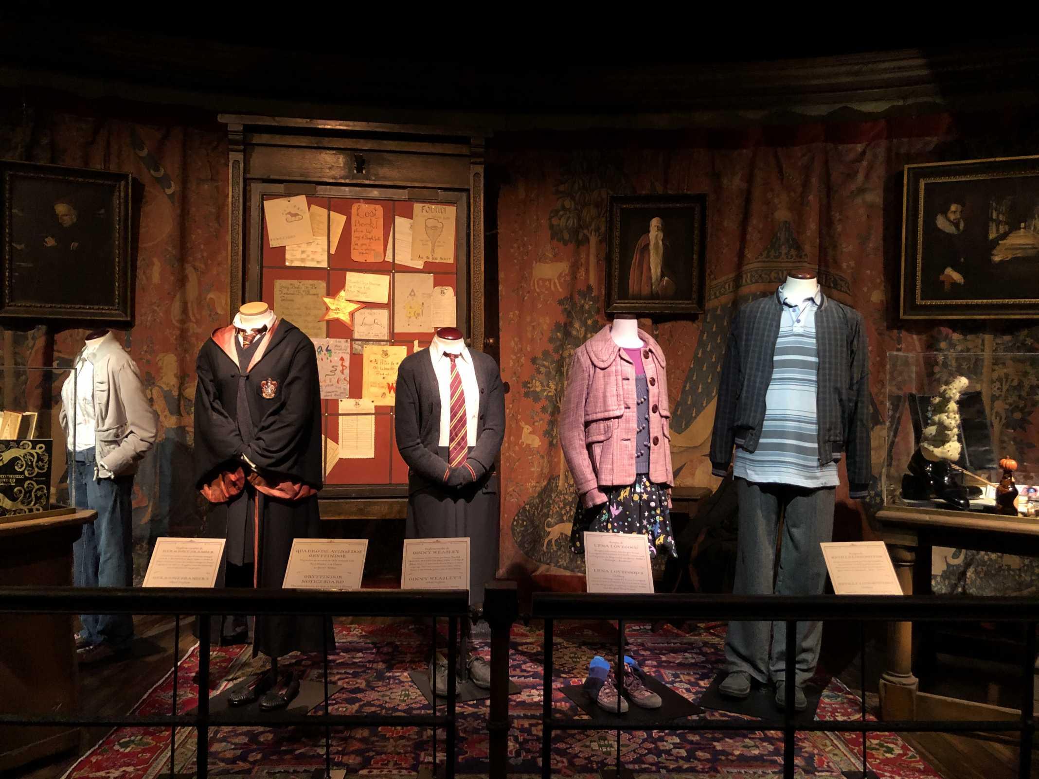 Exposição Harry Potter Lisboa