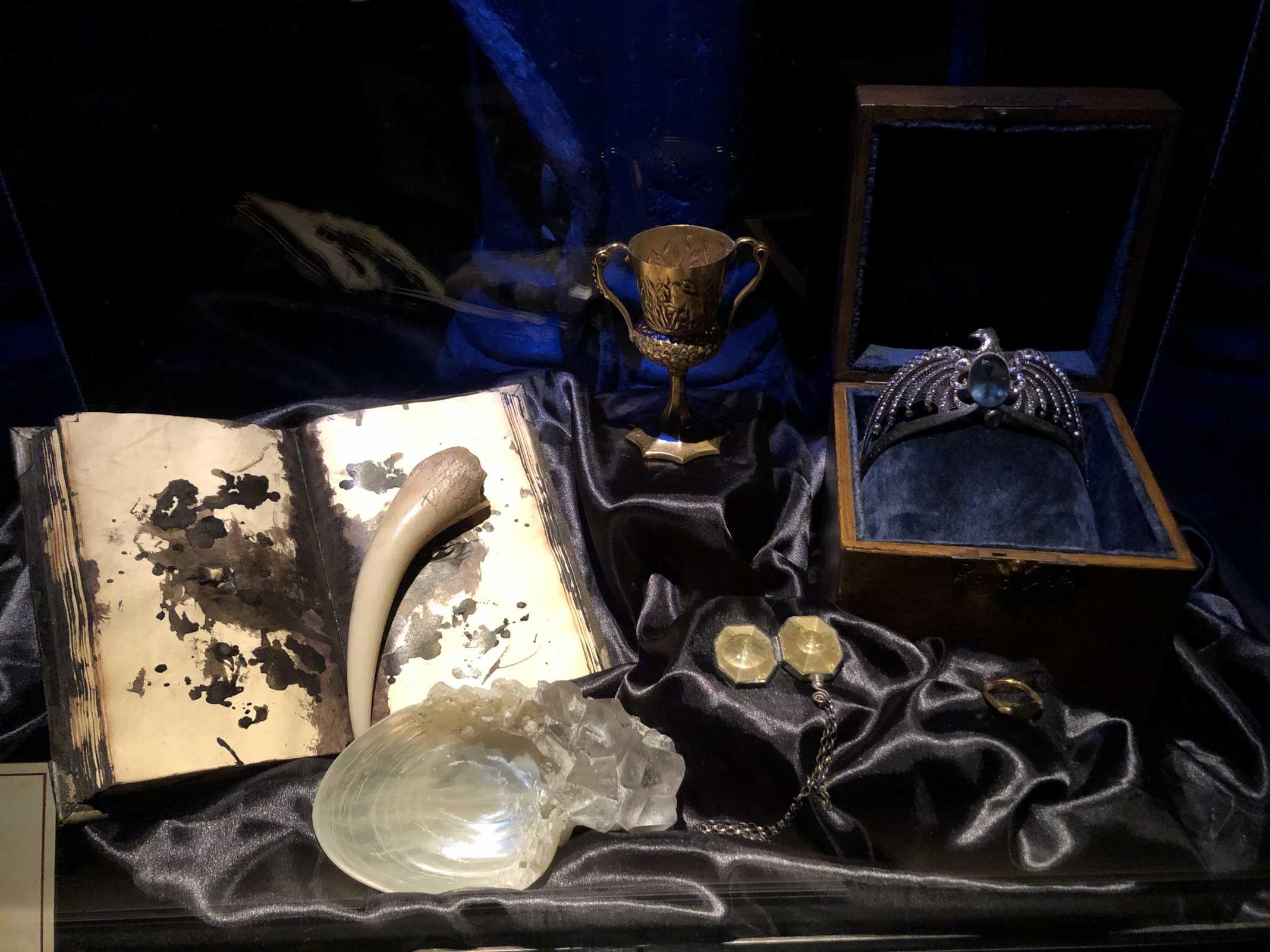Horcruxes Harry Potter Exhibition