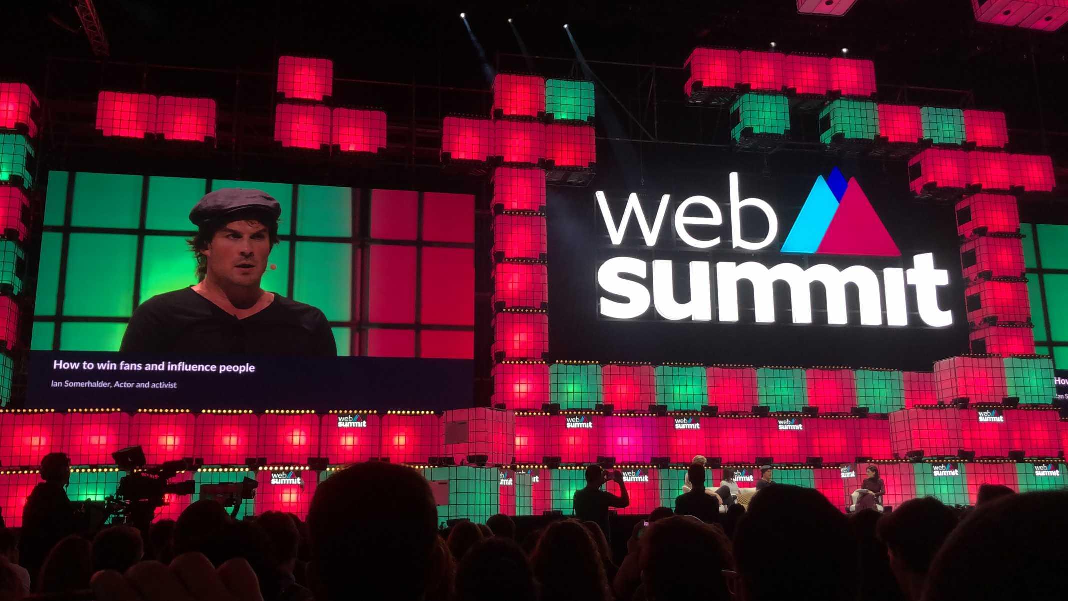 Ian Somerhalder Web Summit