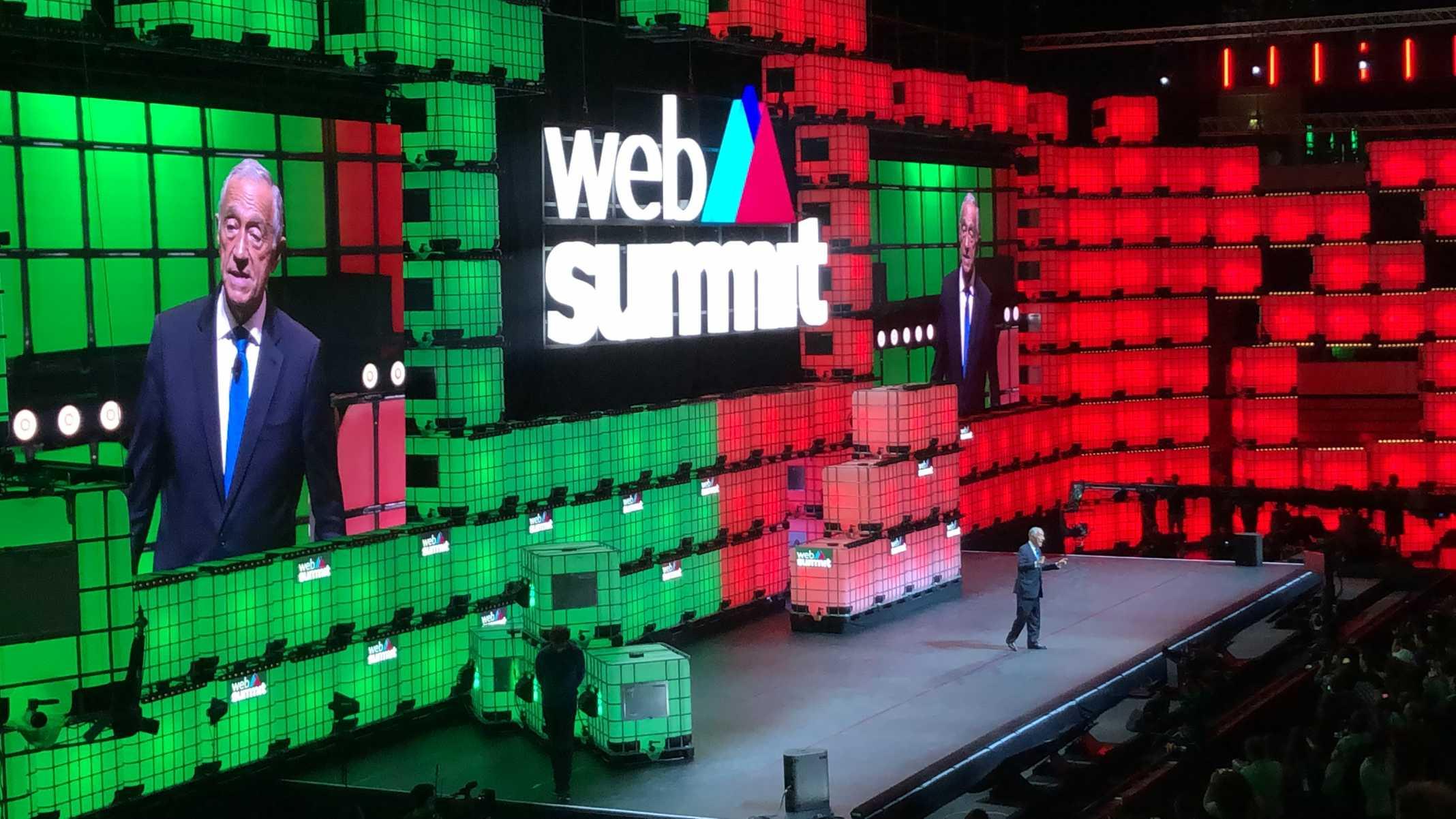Presidente Marcelo Web summit