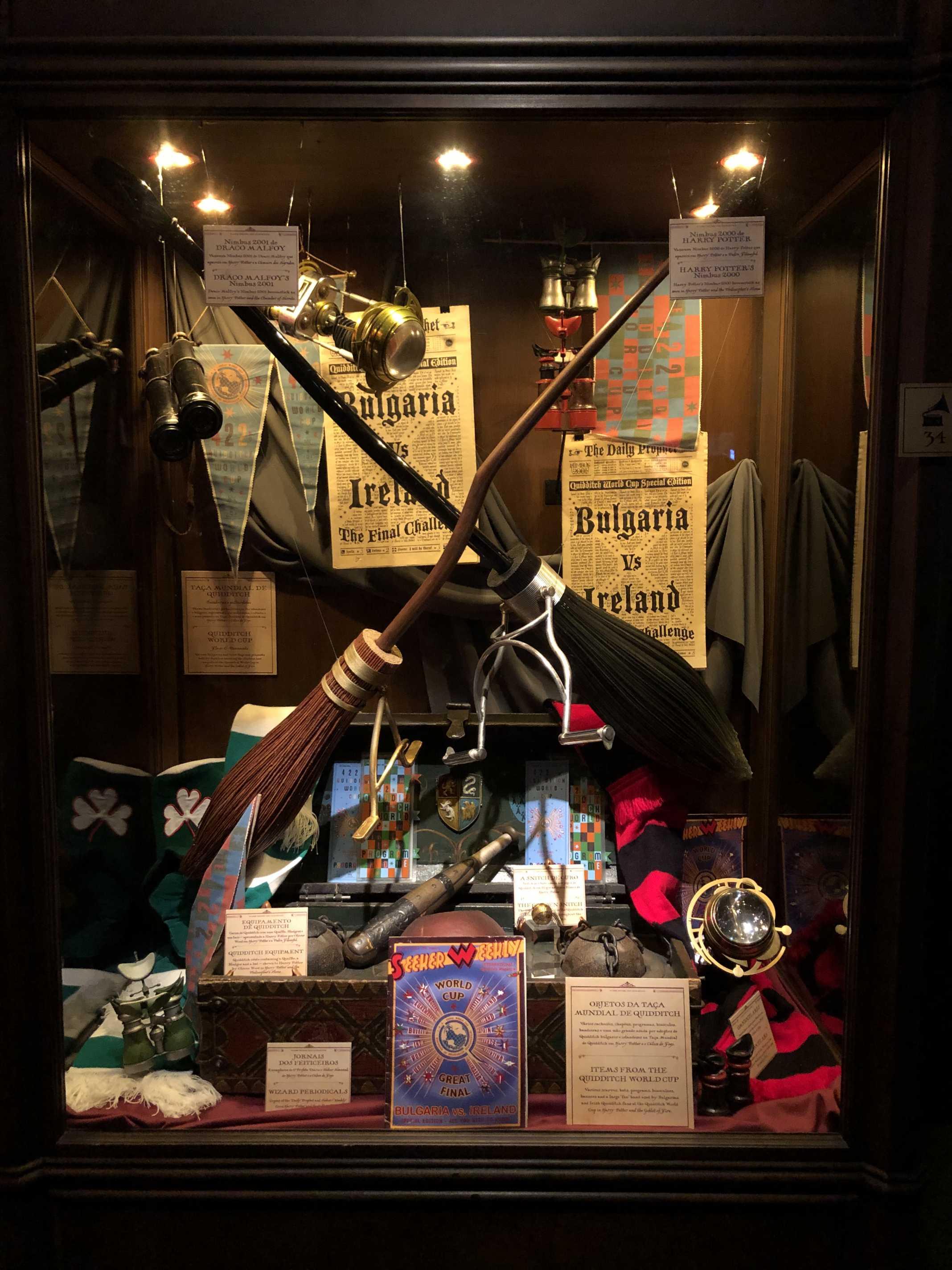 Quiditch Harry Potter Exhibition