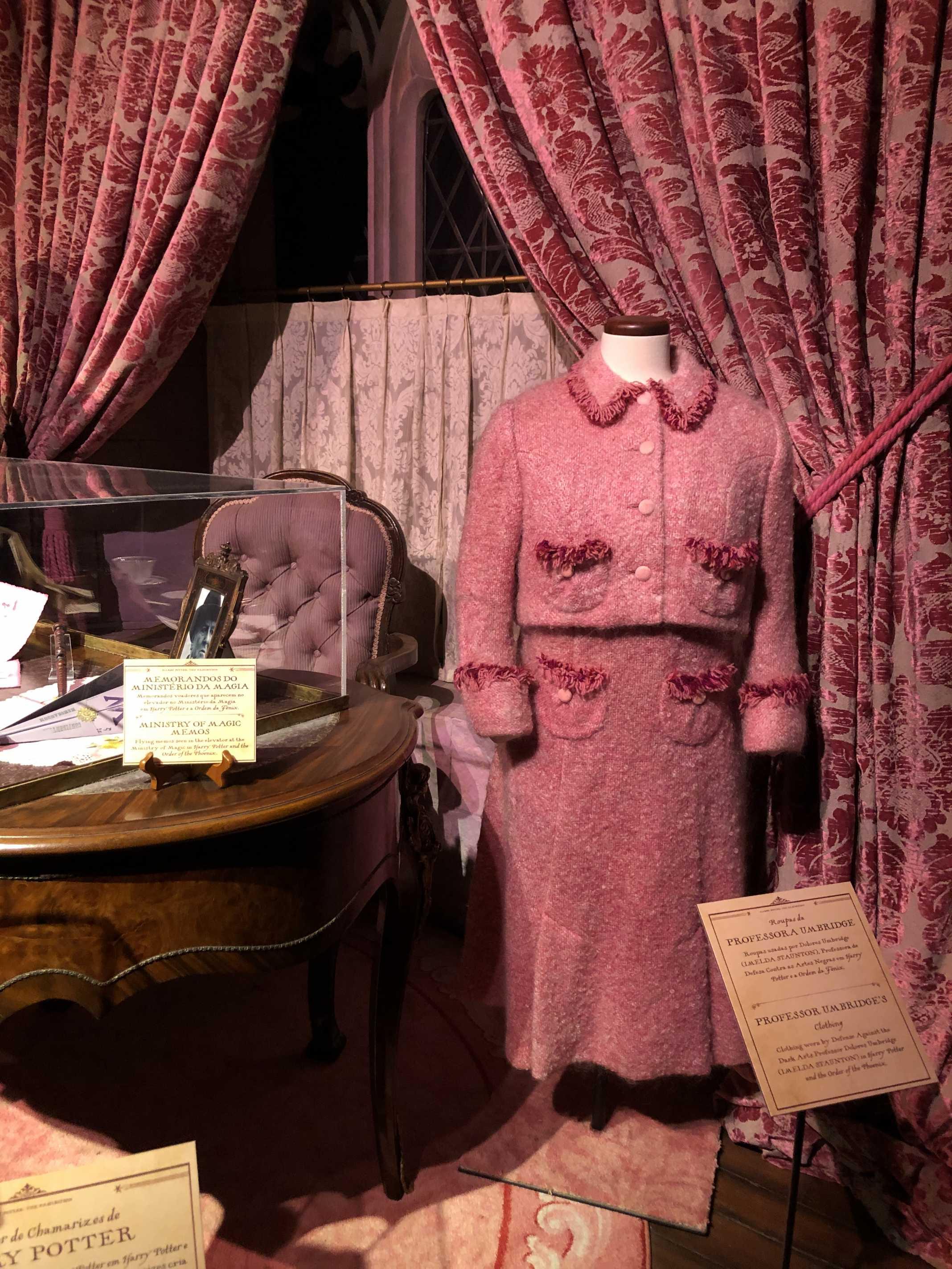 Umbridge Harry Potter Exposição