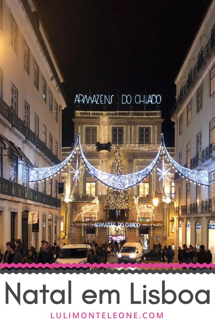Natal em Lisboa Portugal