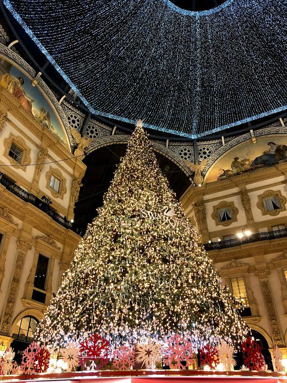 Árvore de Natal Milão