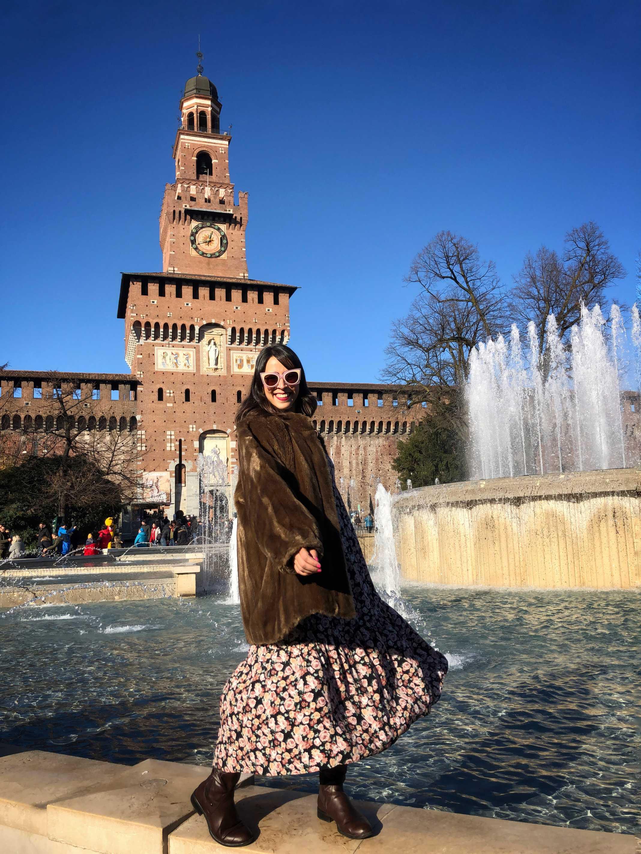 Castelo Milão Itália