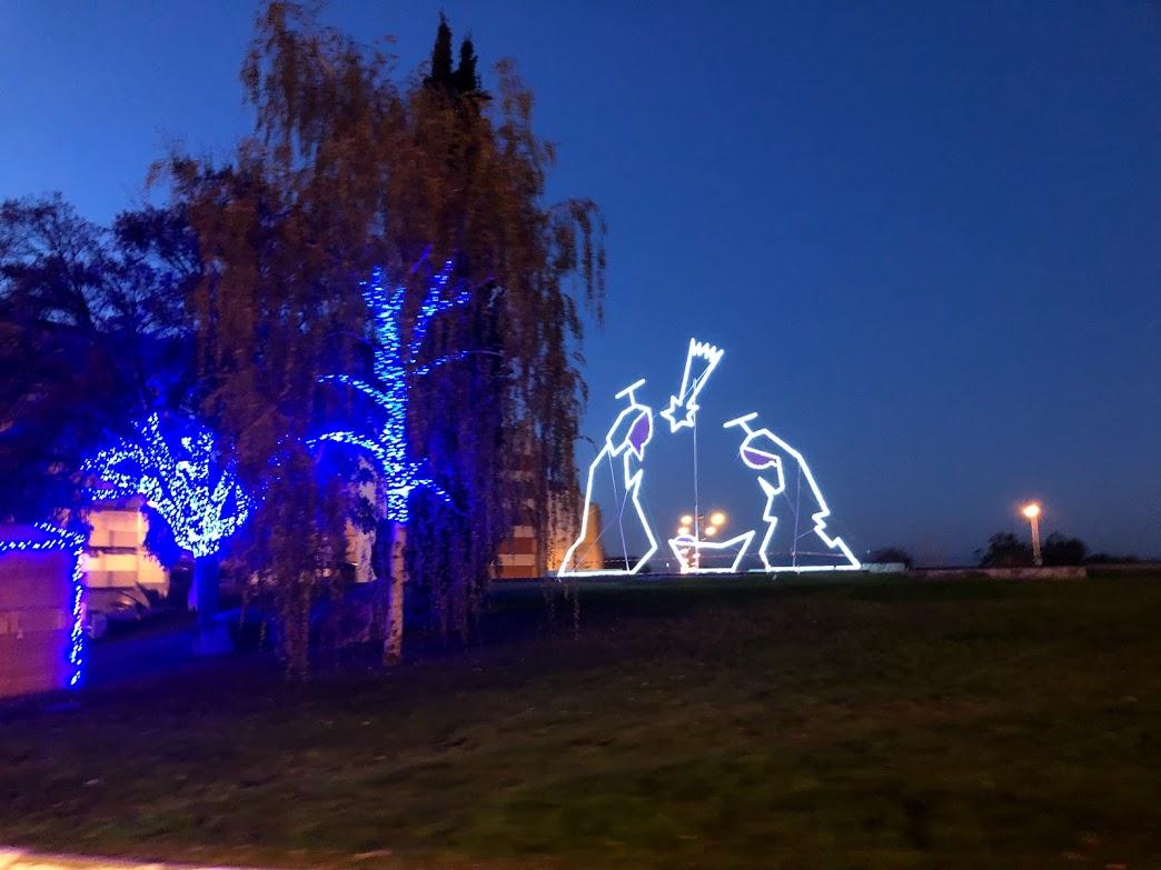 Luzes de Natal Castelo Branco