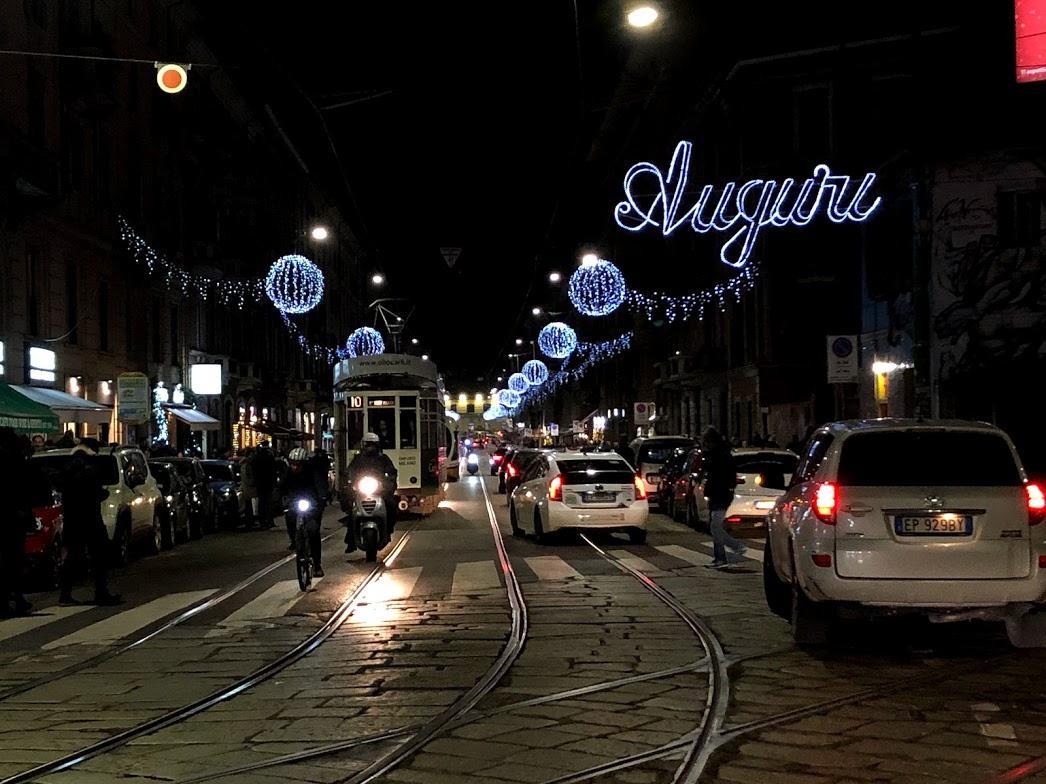 Milão no Natal