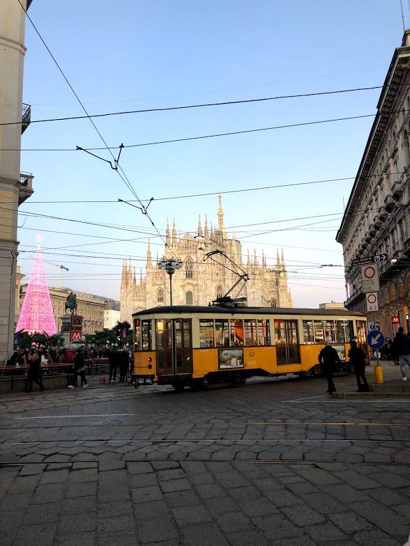 Natal em Milão Itália