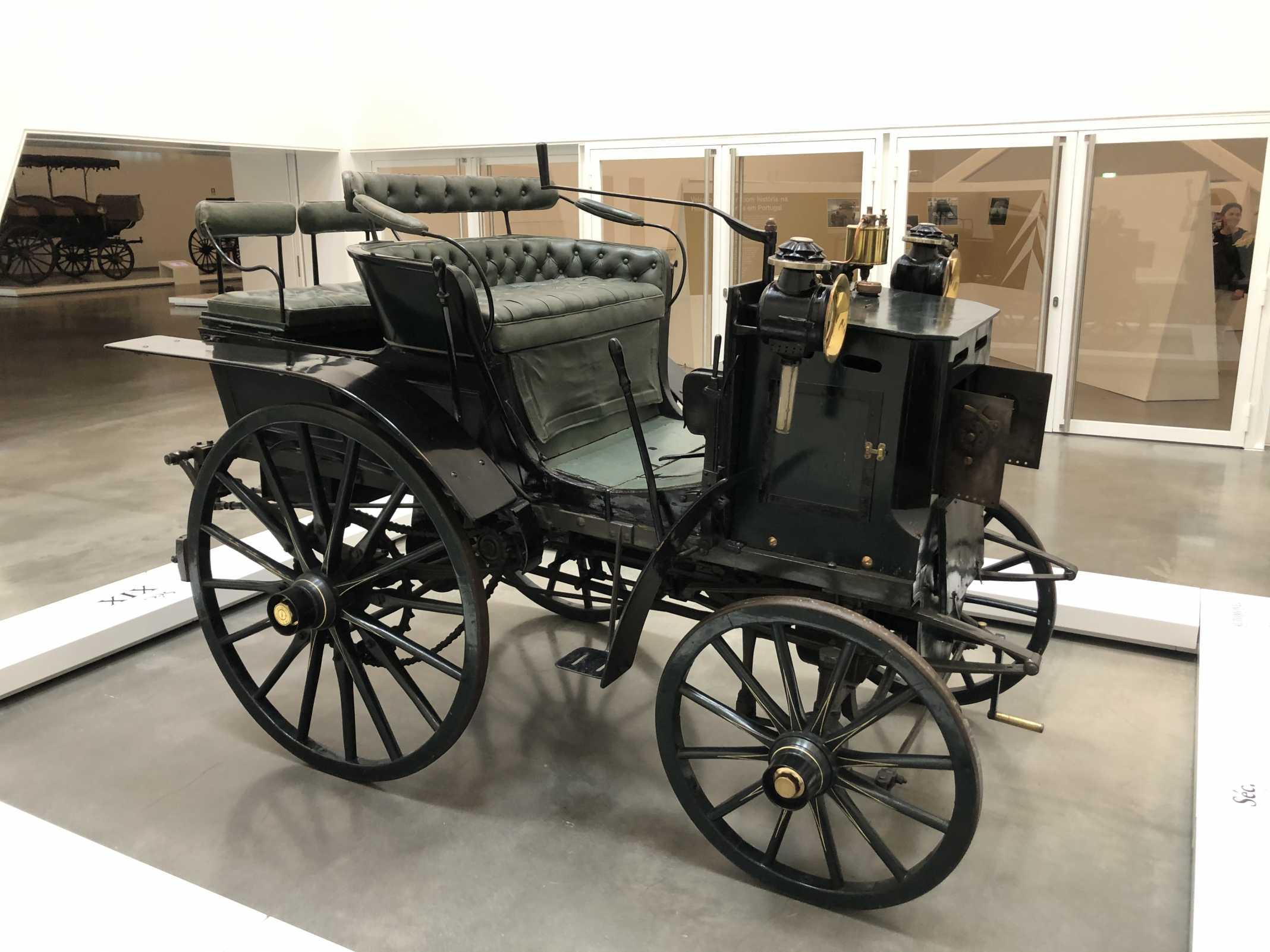Primeiro carro portugal
