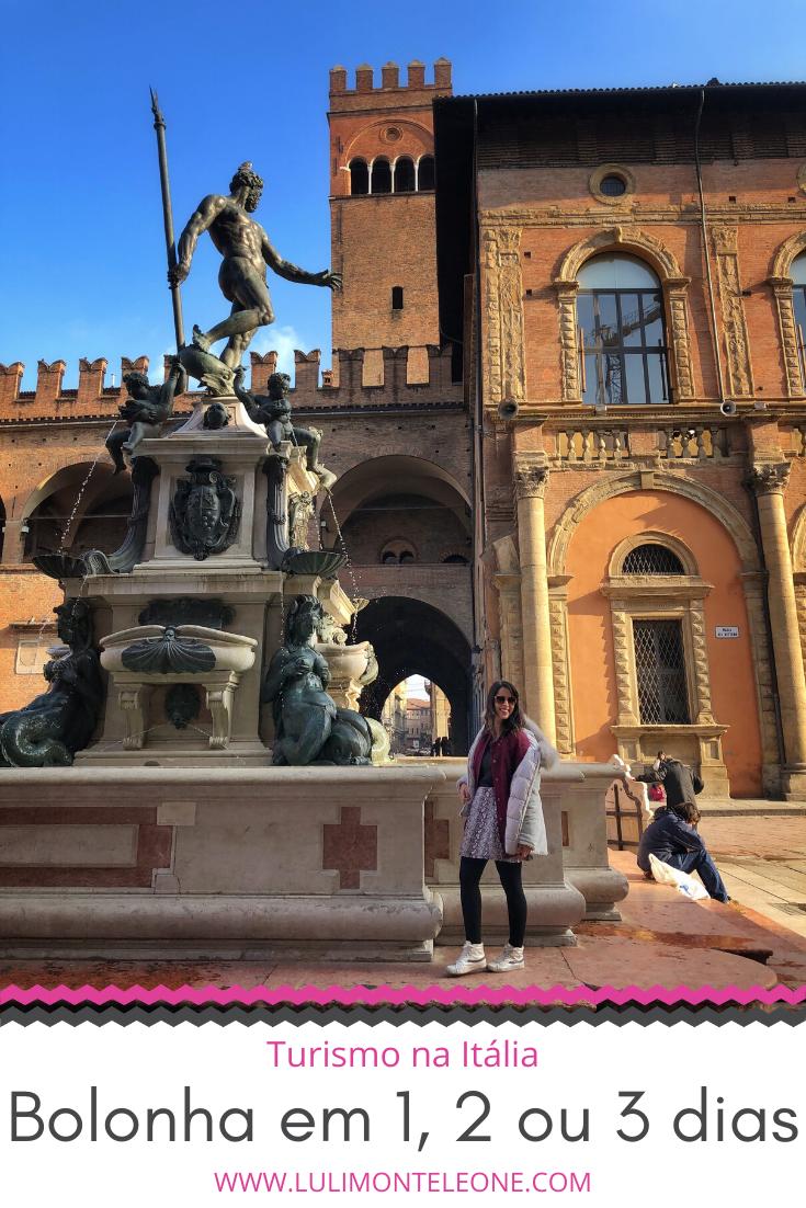 Roteiro de viagem Bolonha Itália