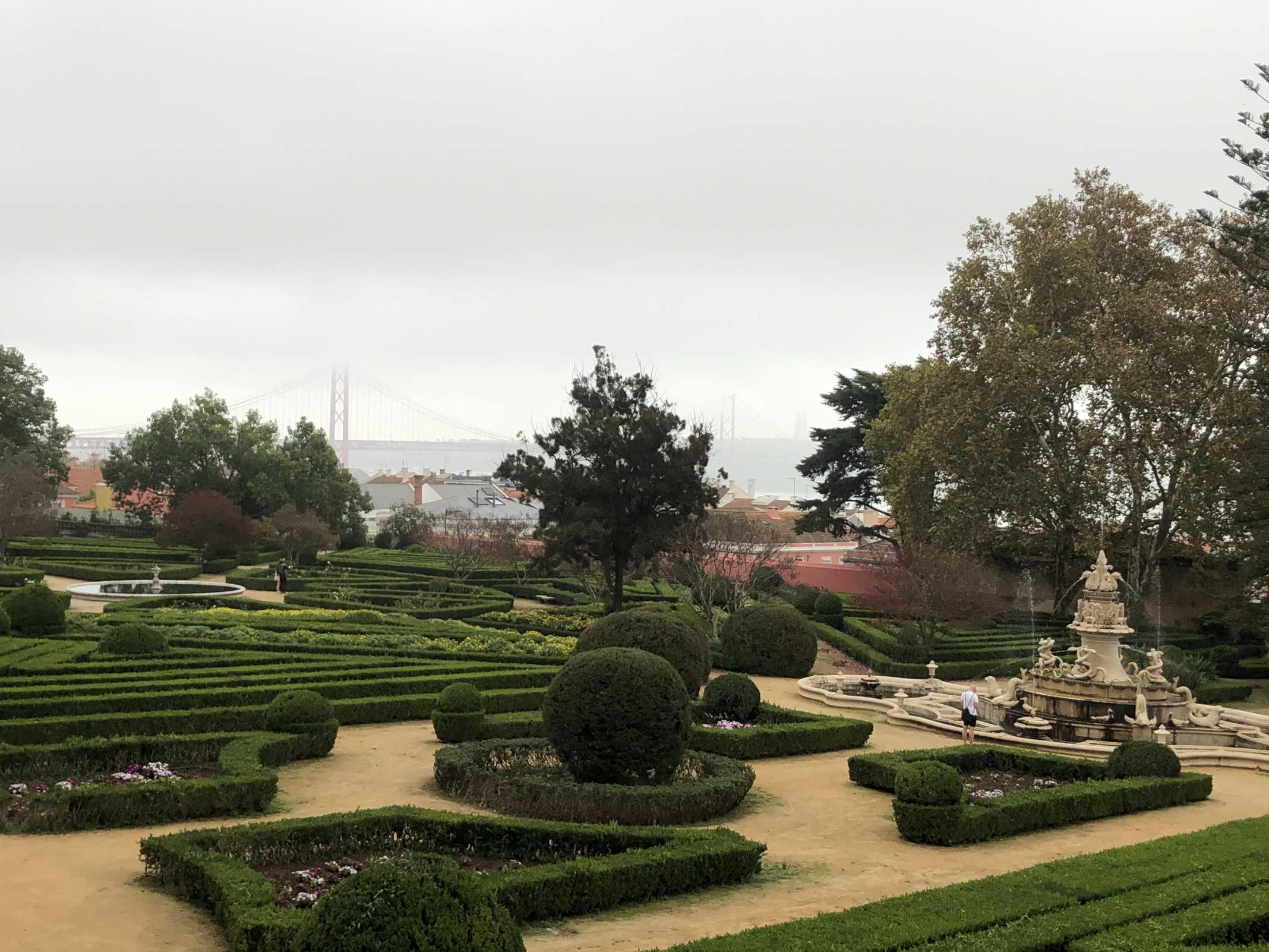 Vista Jardim Botânico da Ajuda
