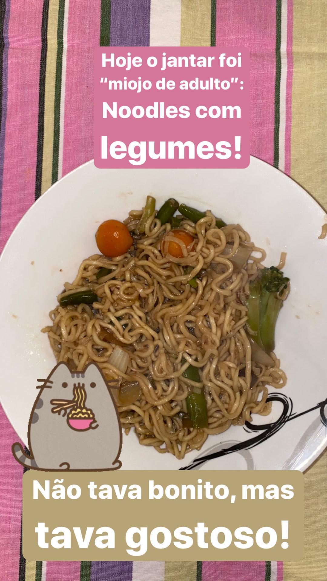 Noodles receita facil