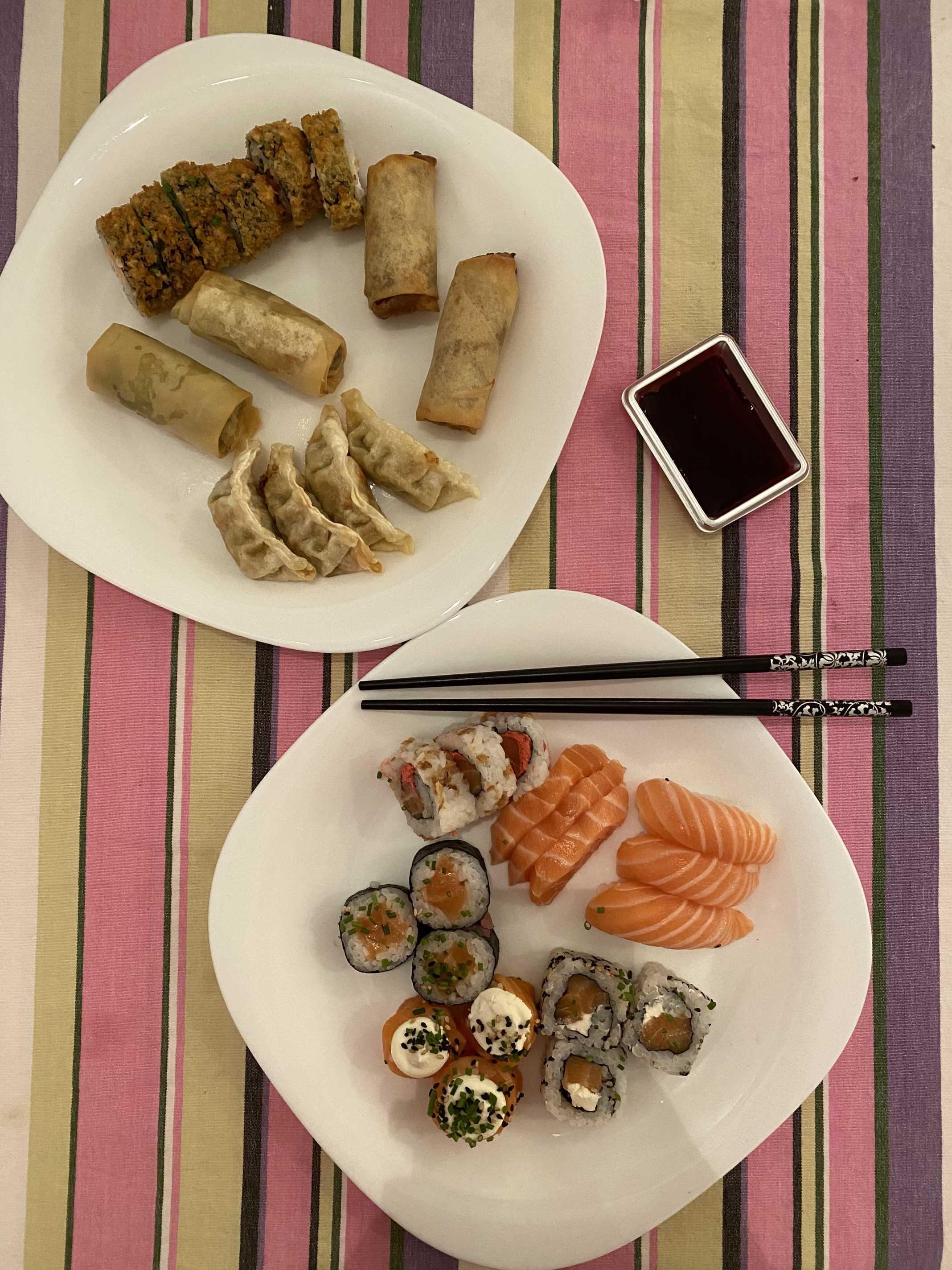 sushi em casa