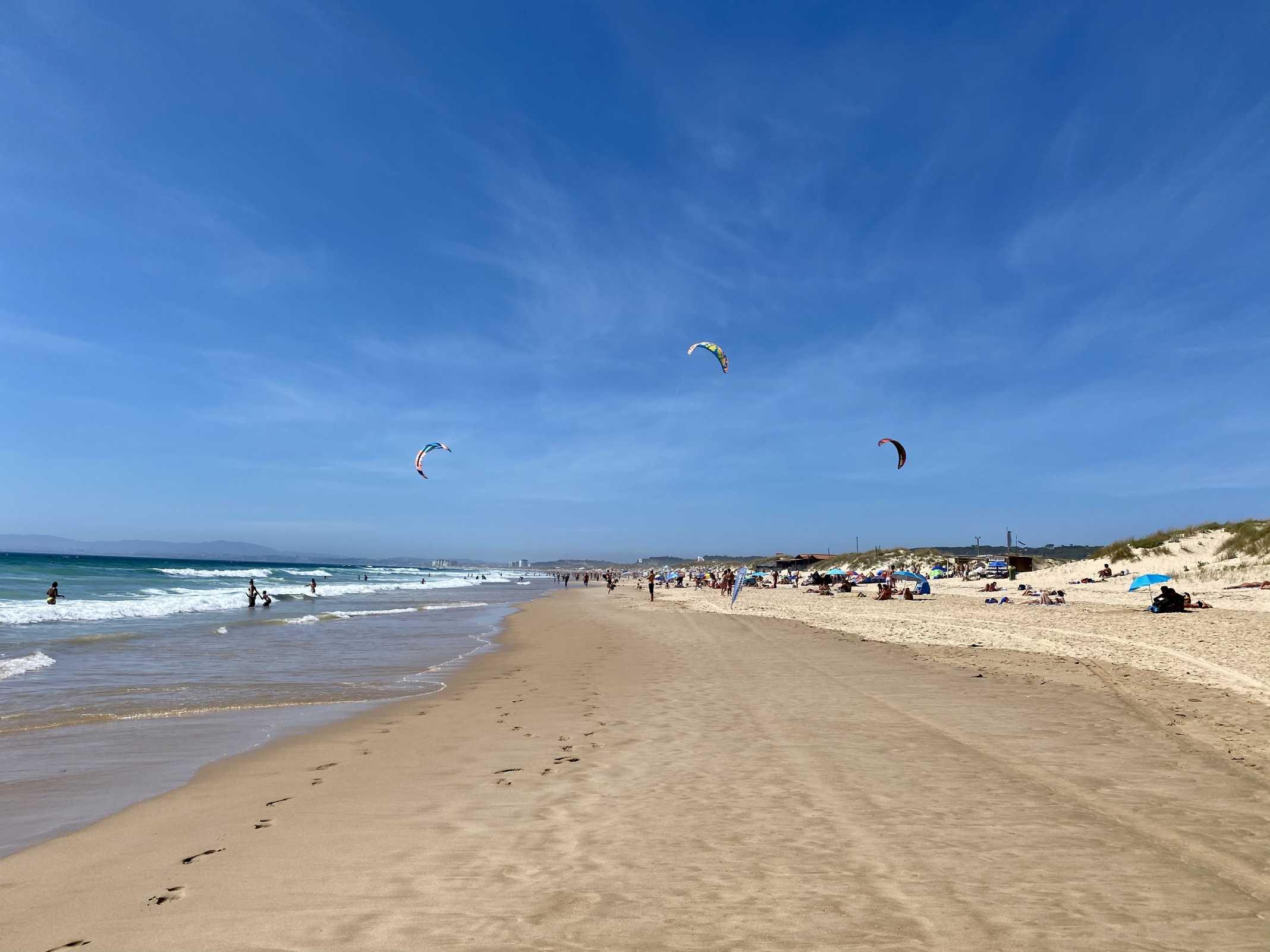 costa da caparica praias