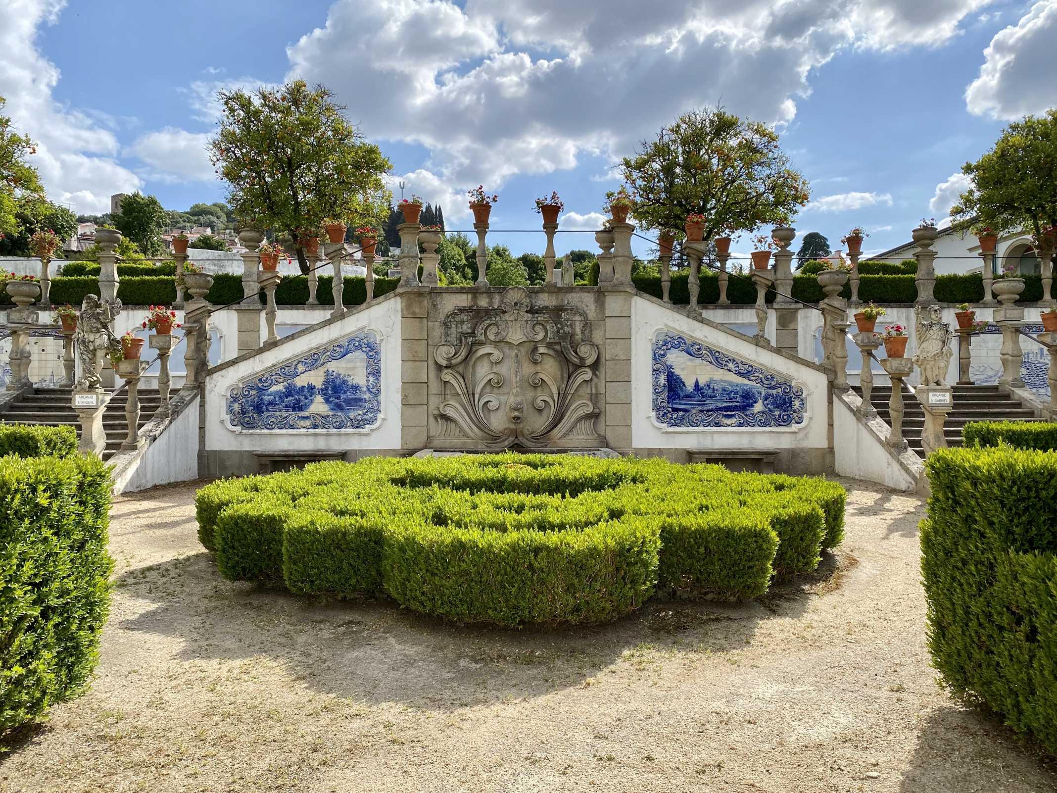 Jardim do Paço Episcopal em Castelo Branco