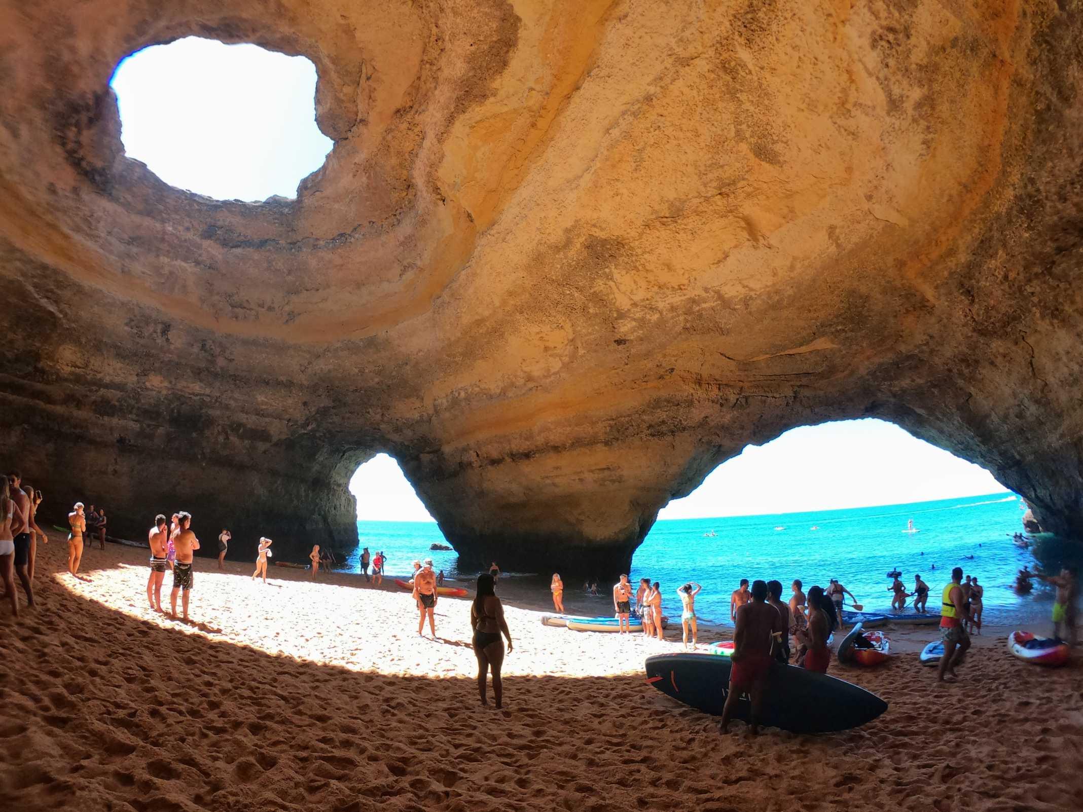 gruta de benagil sup