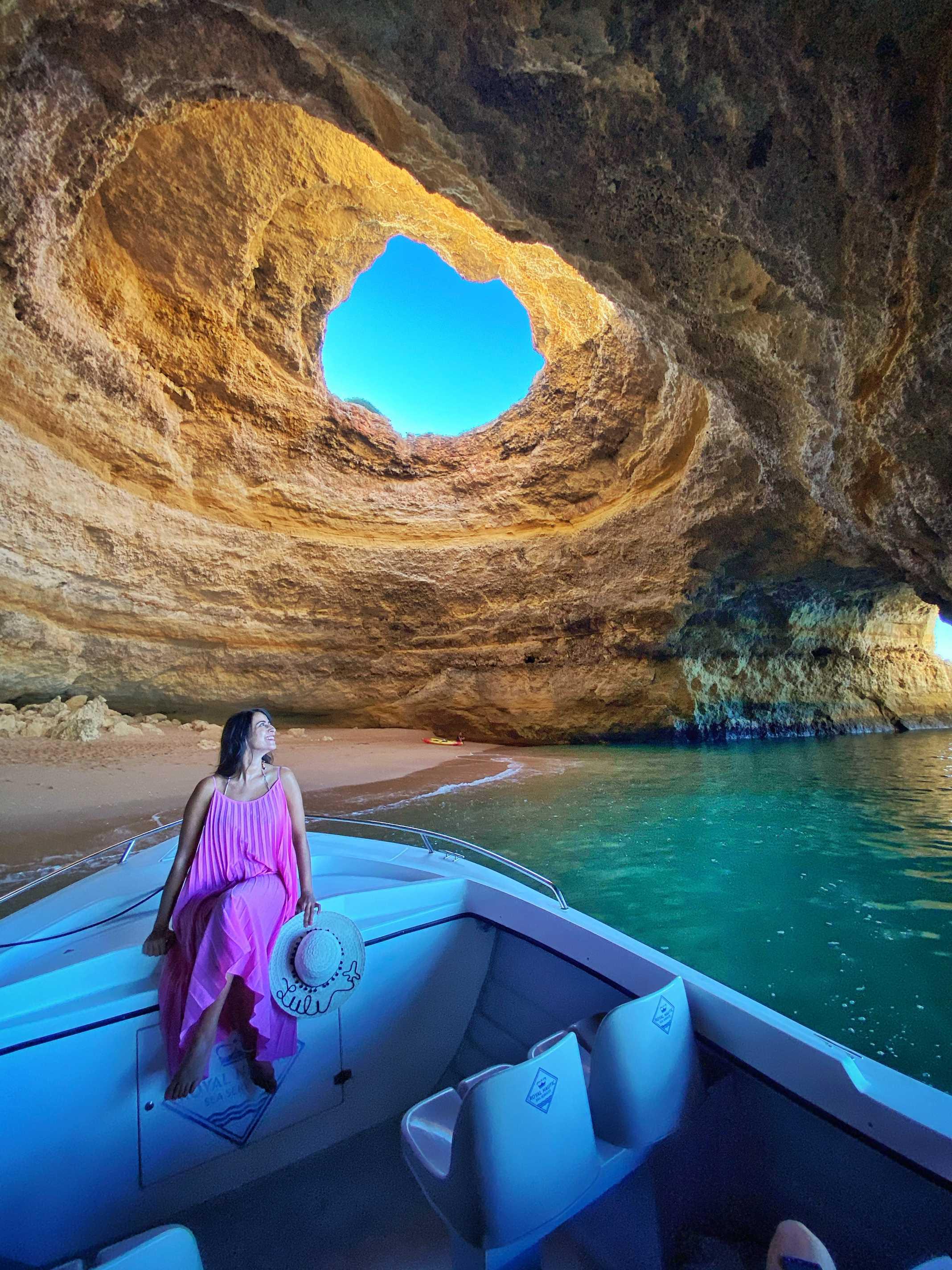 boat tour benagil algarve