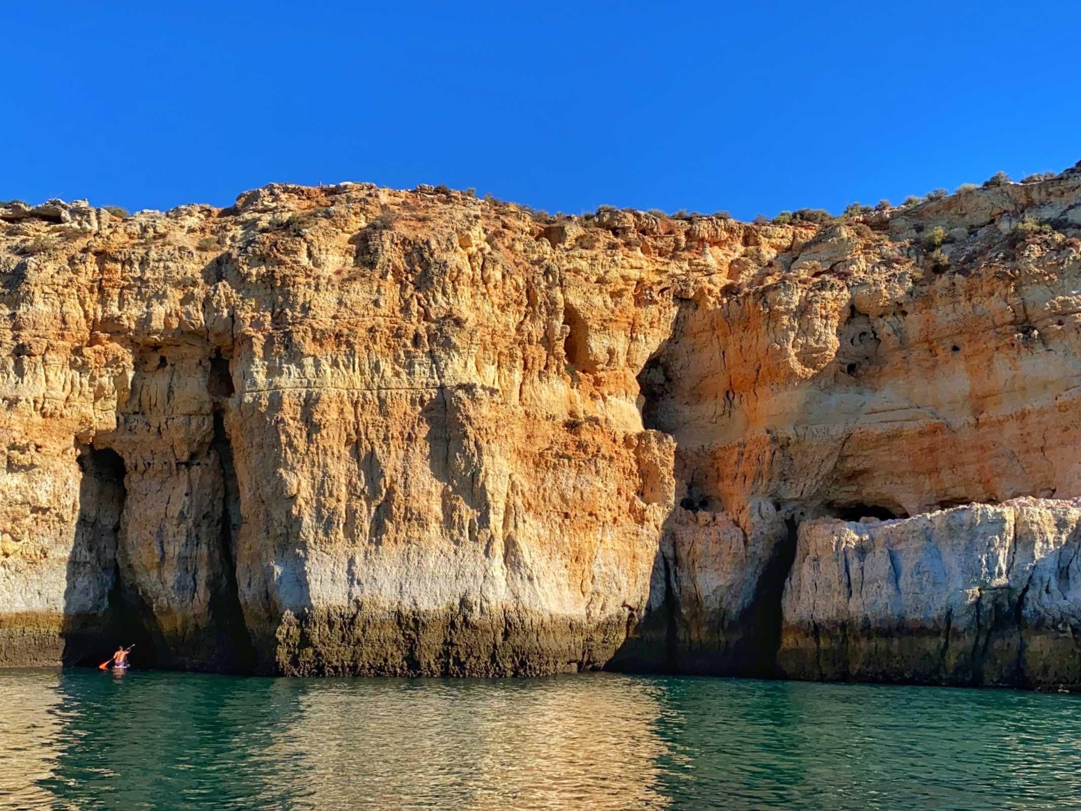 Falésias Benagil Algarve