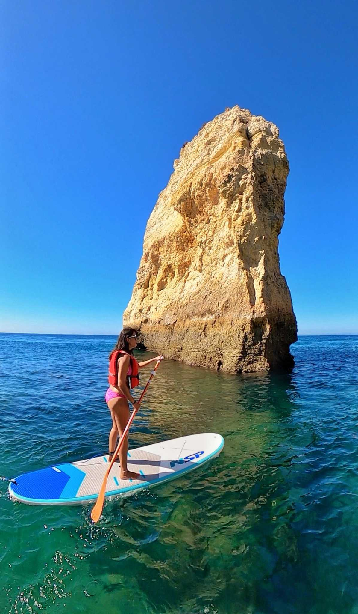 stand up paddle algarve