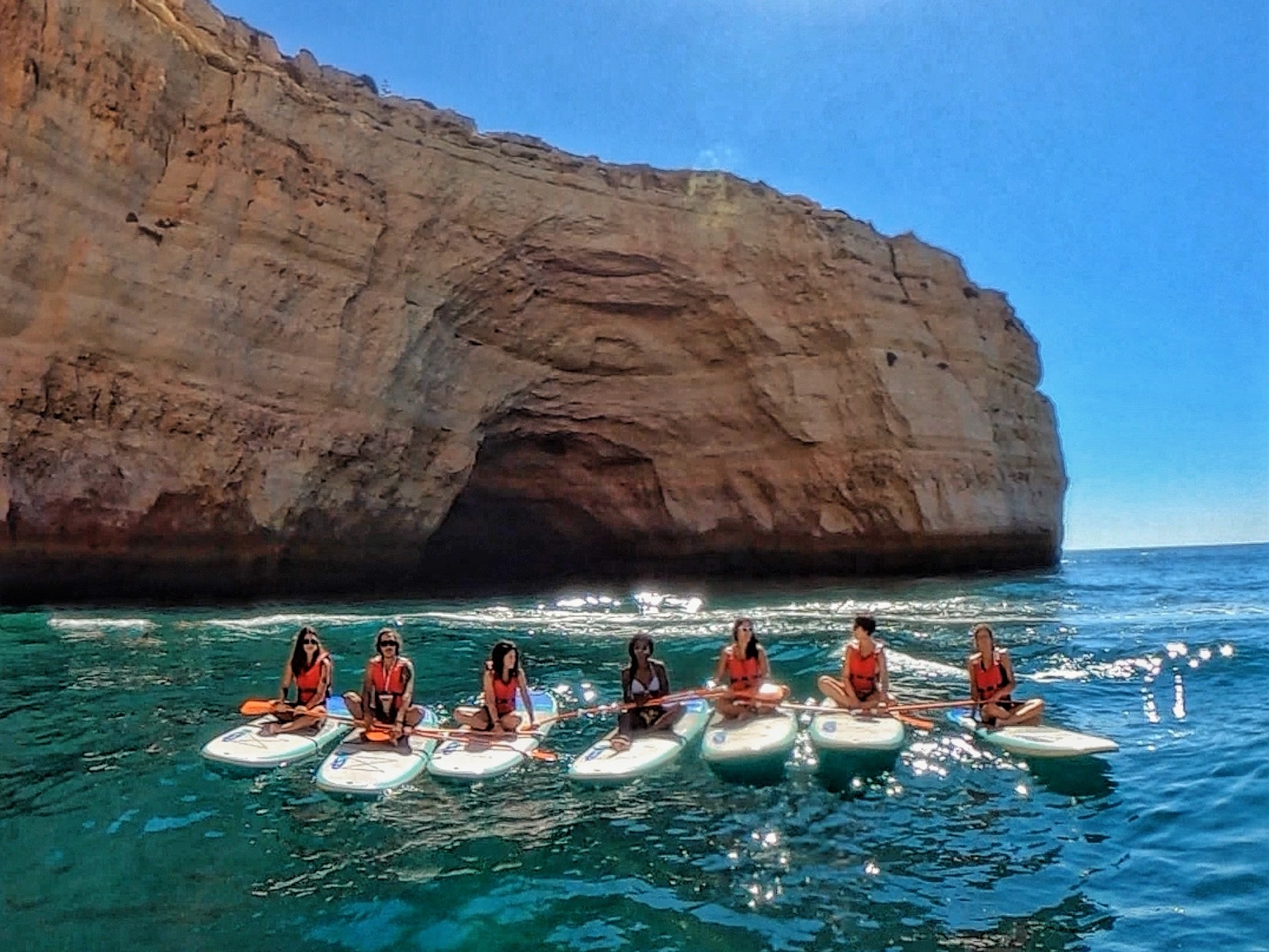 stand up paddle tour algarve