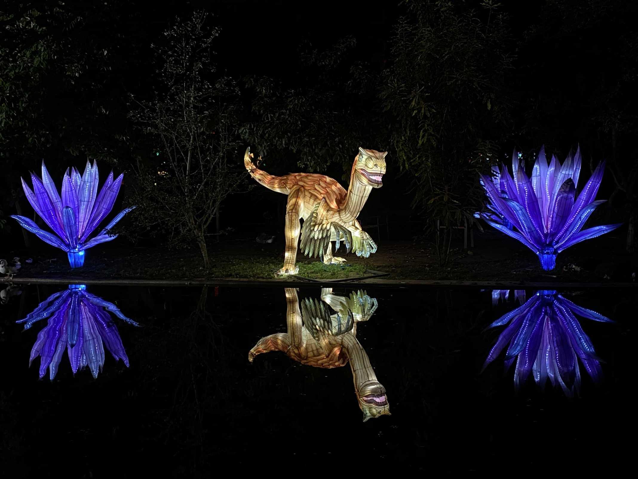 dinossauro luz portugal