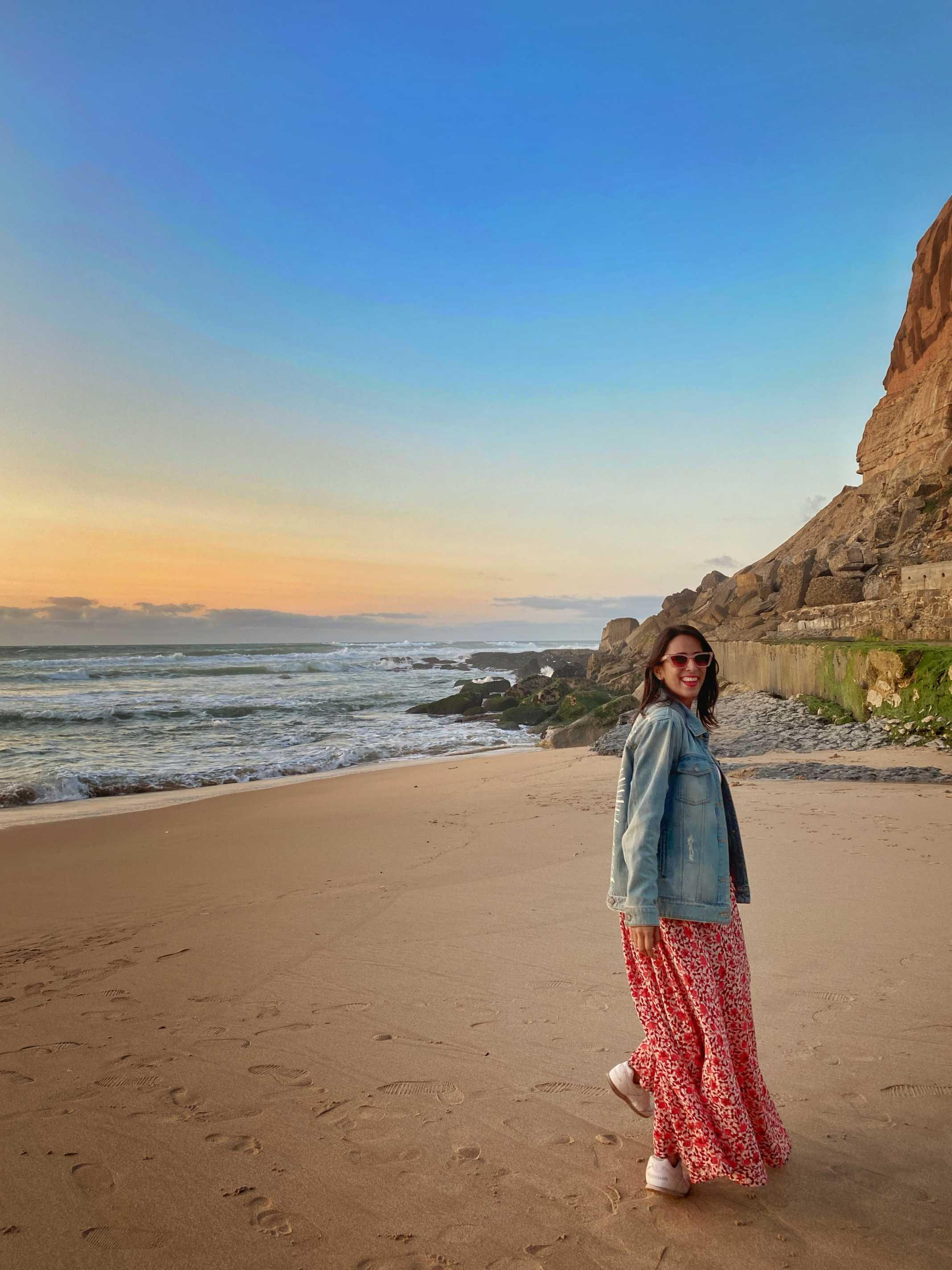 praia azenhas do mar