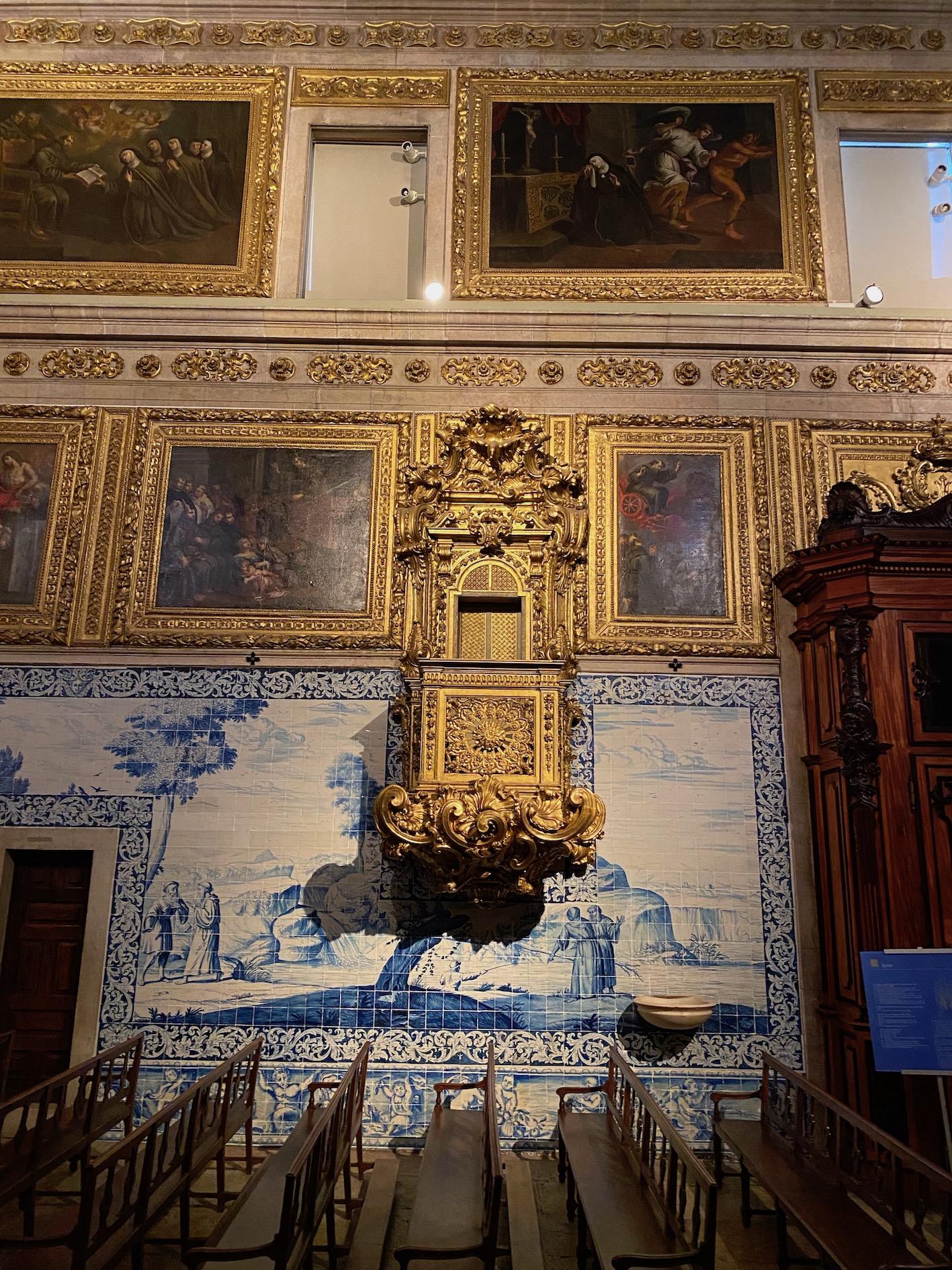 azulejos capela museu