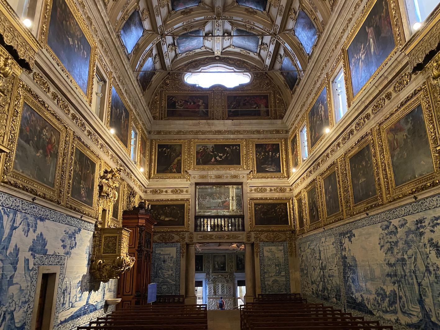 capela museu azulejo