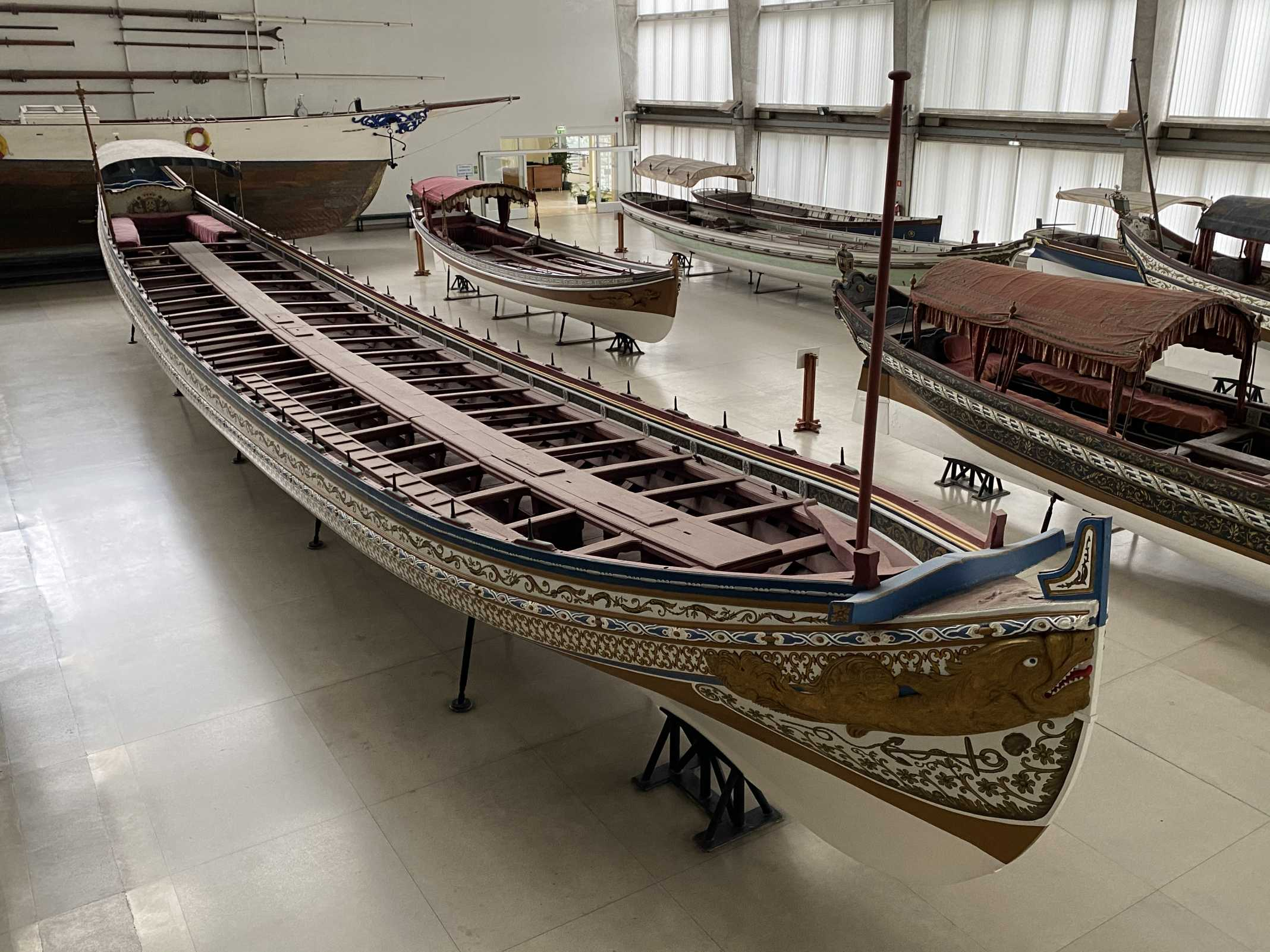 embarcações museus de marinha