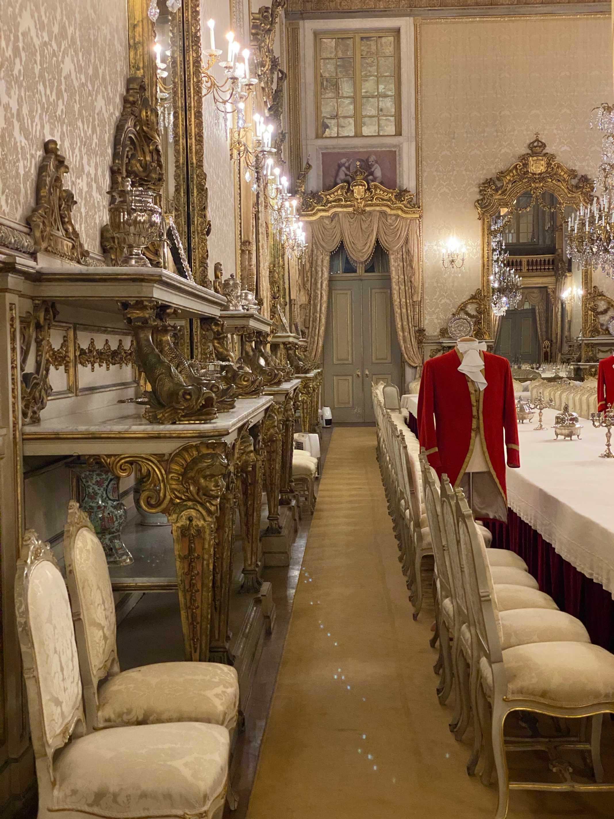 sala dos jantares palacio da ajuda