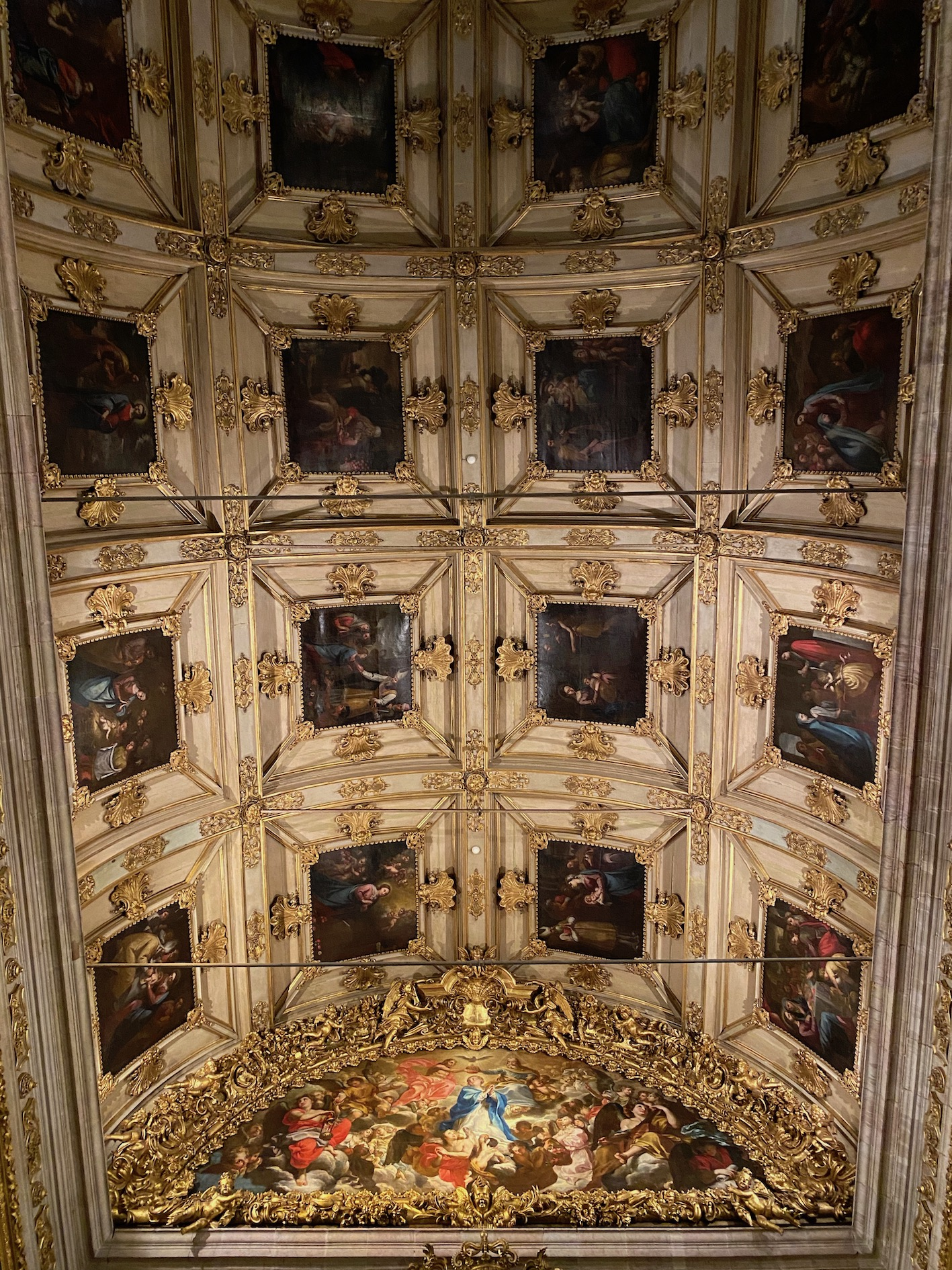 museu do azulejo teto capela