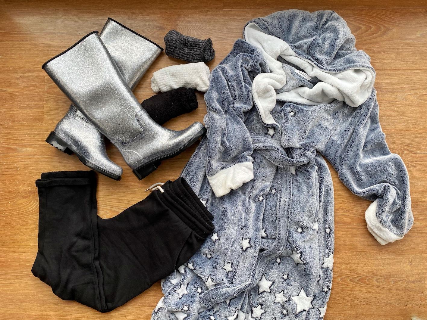 compras da quarentena roupa