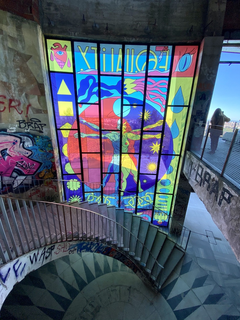 escada panoramico de monsanto