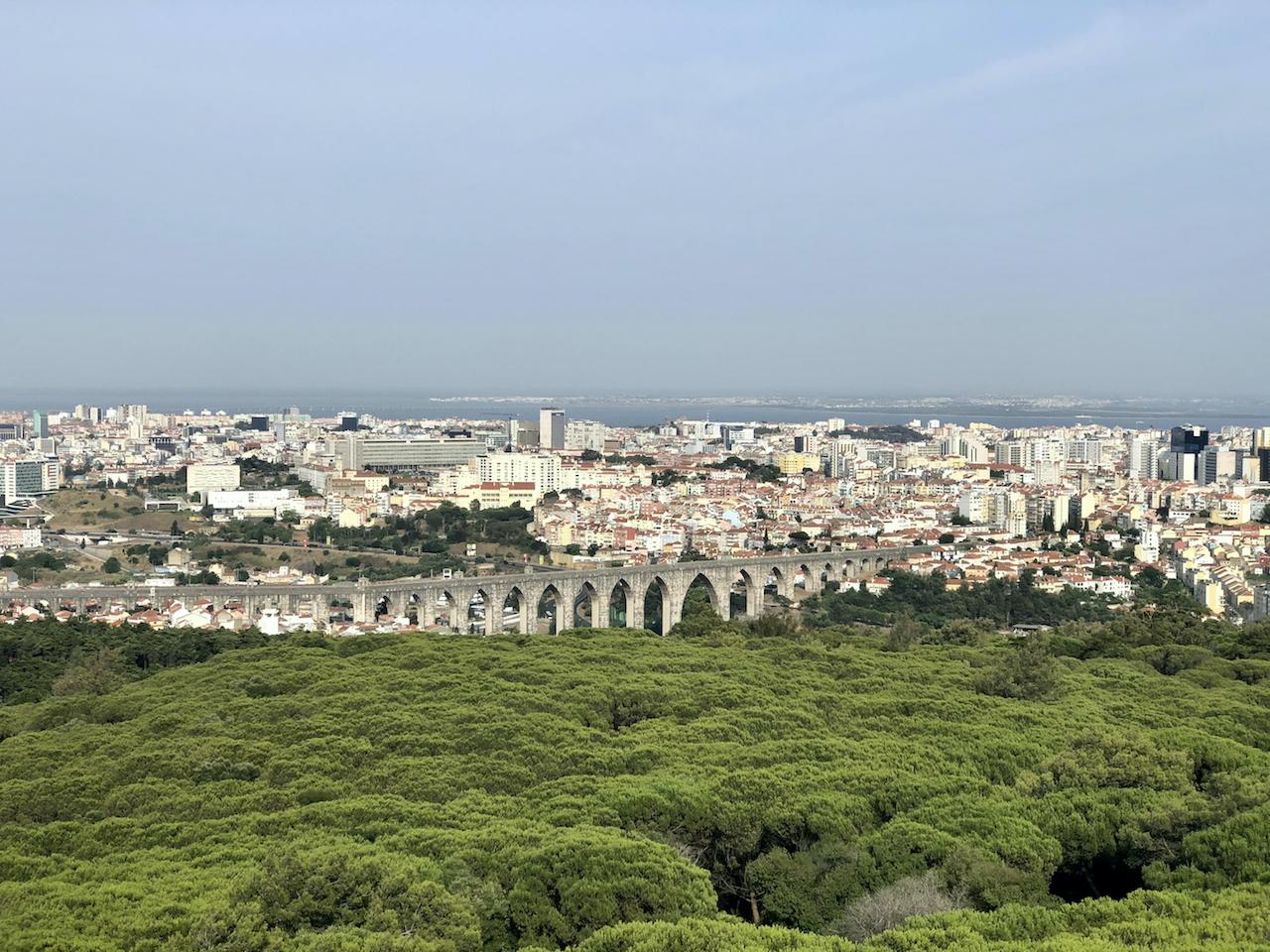 panoramico de monsanto paisagem