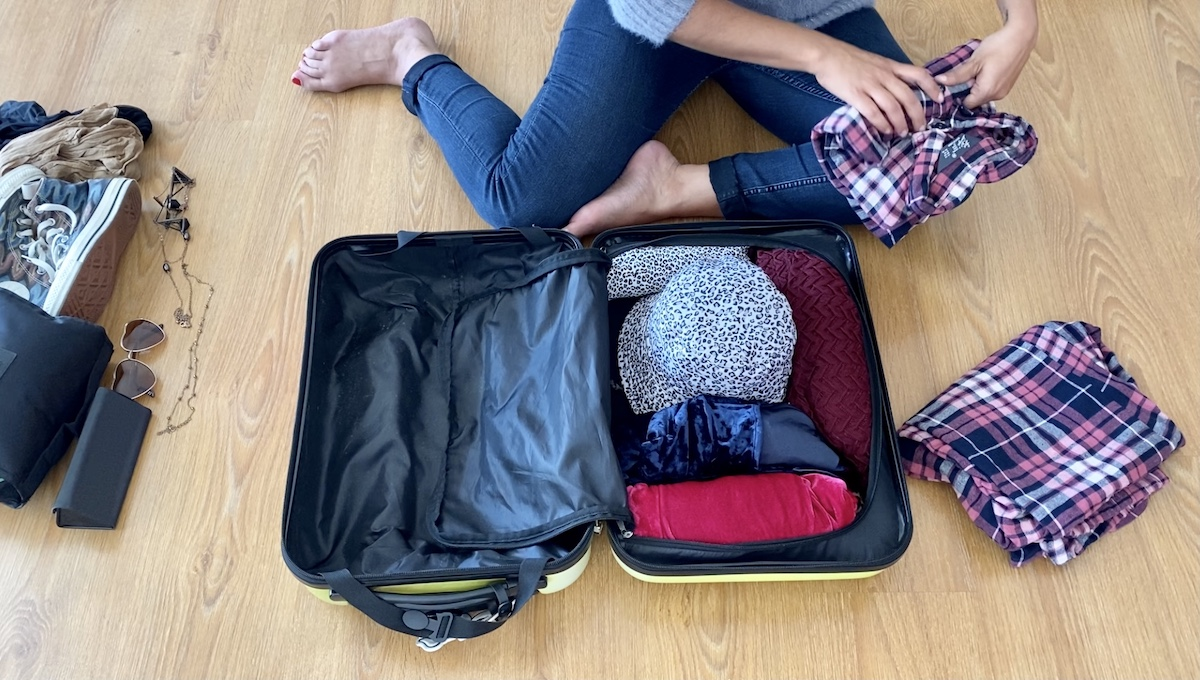 como fazer mala