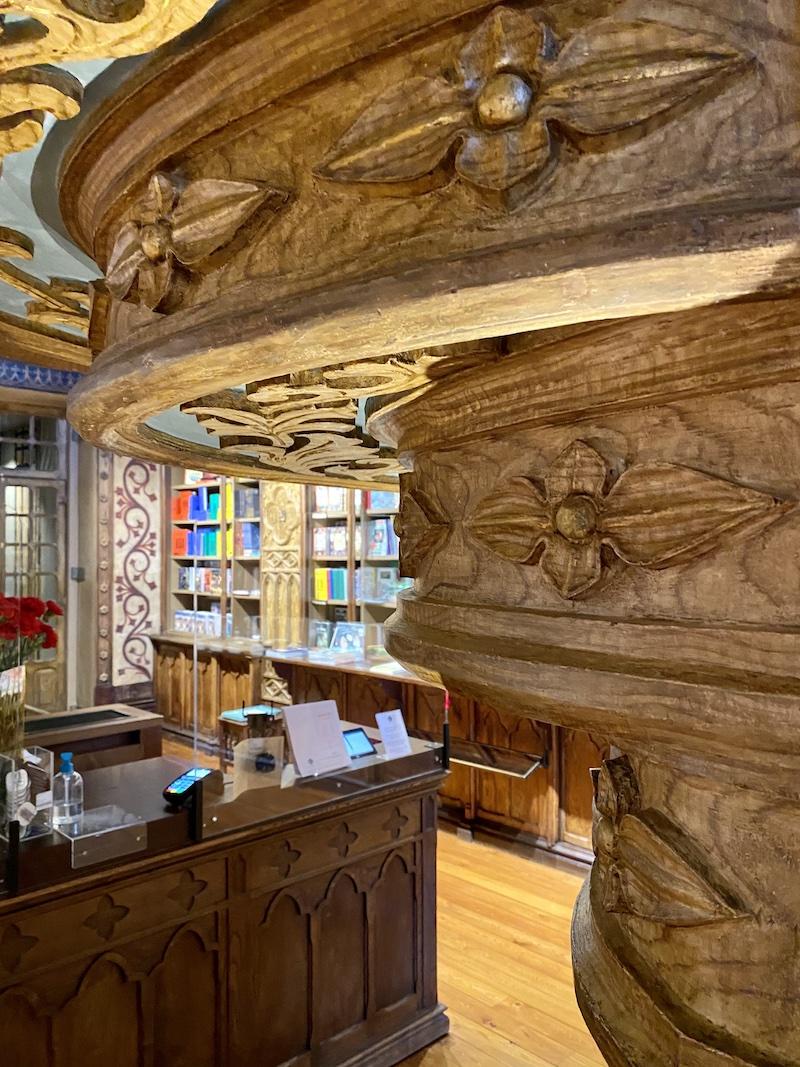 livraria lello arquitetura