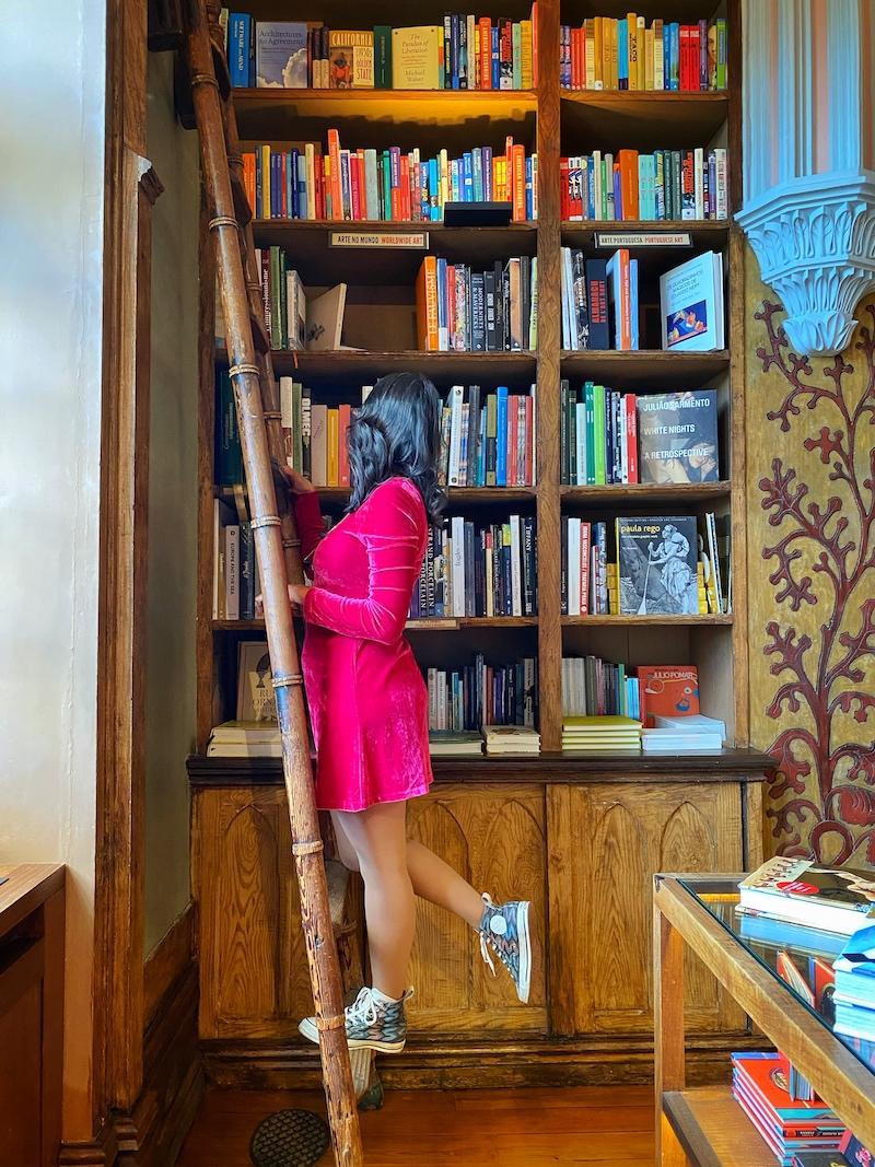 luli monteleone livraria lello