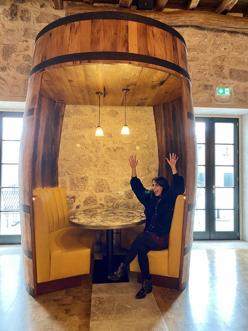 World of wine restaurantes