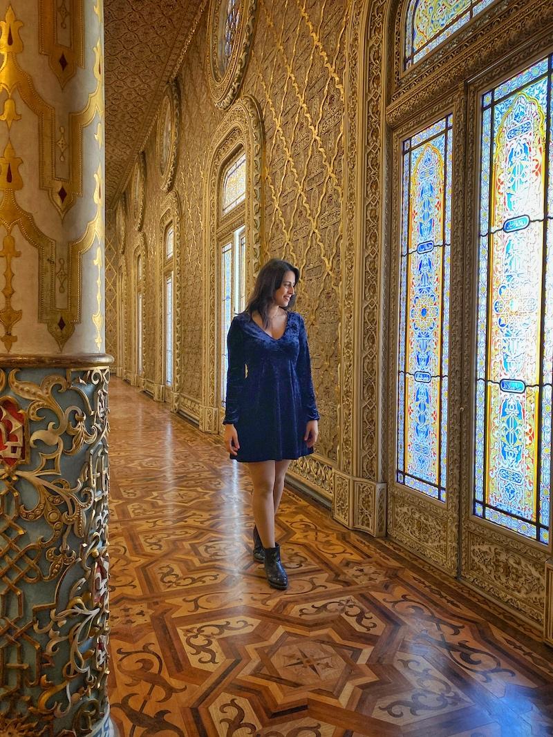 palácio da bolsa salão árabe