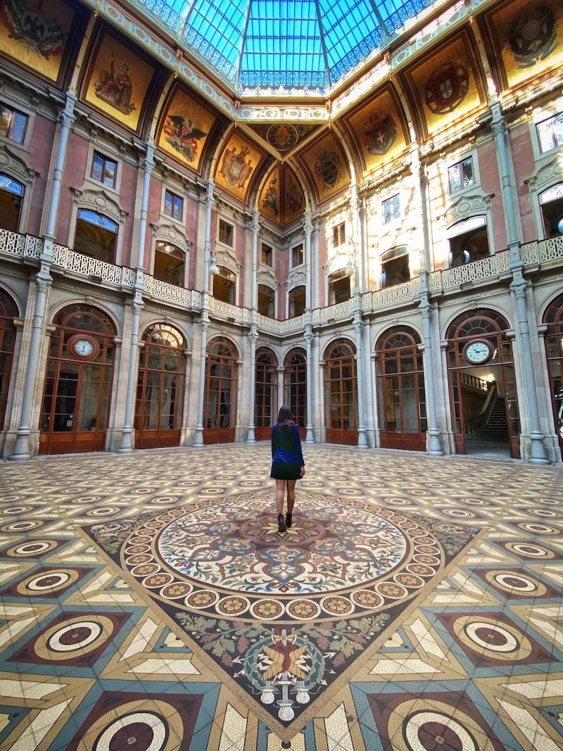 Palácio da Bolsa pátio